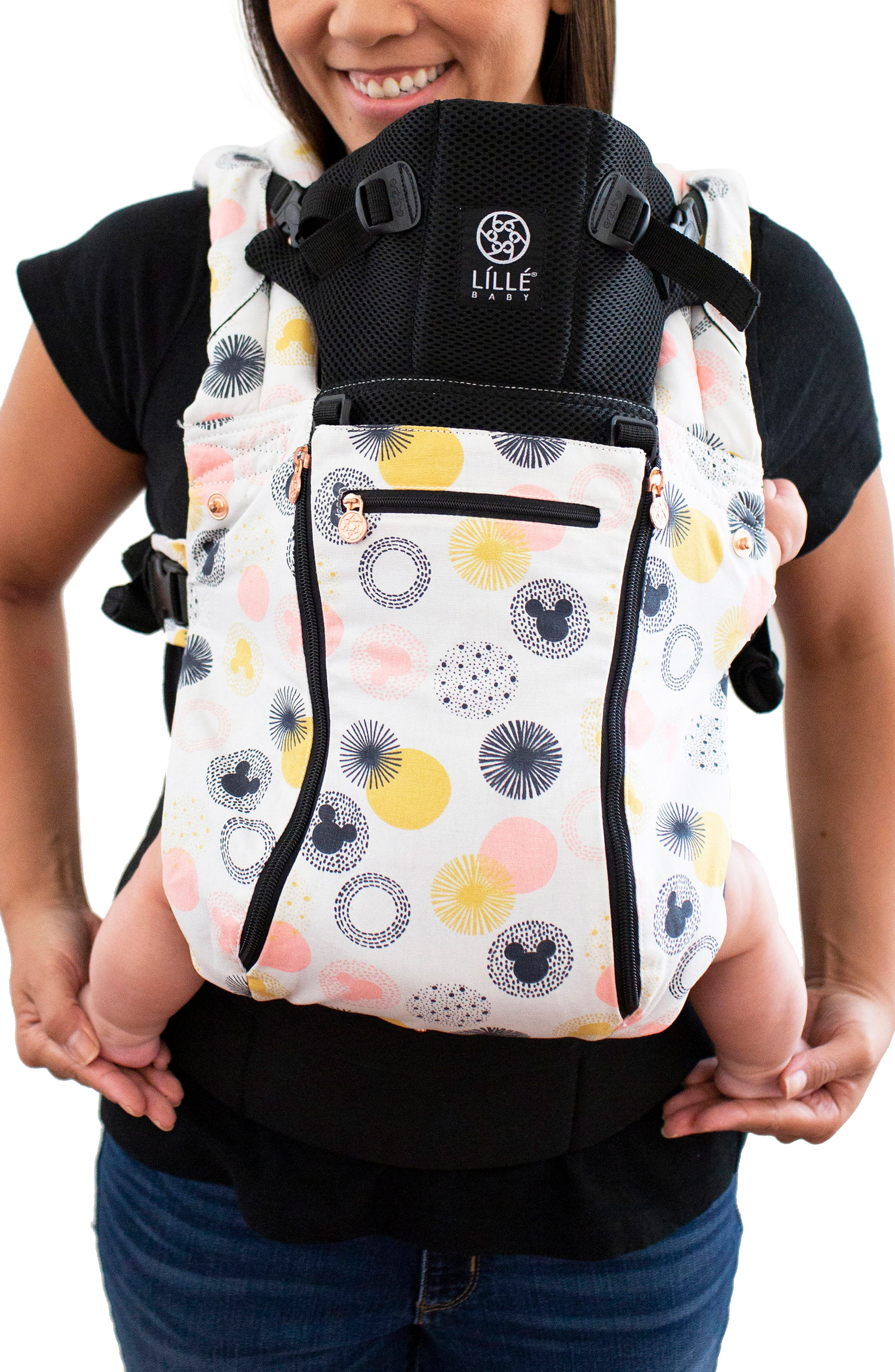 Infant Lillebaby Jubilee All Seasons Baby Carrier Size One Size  Black
