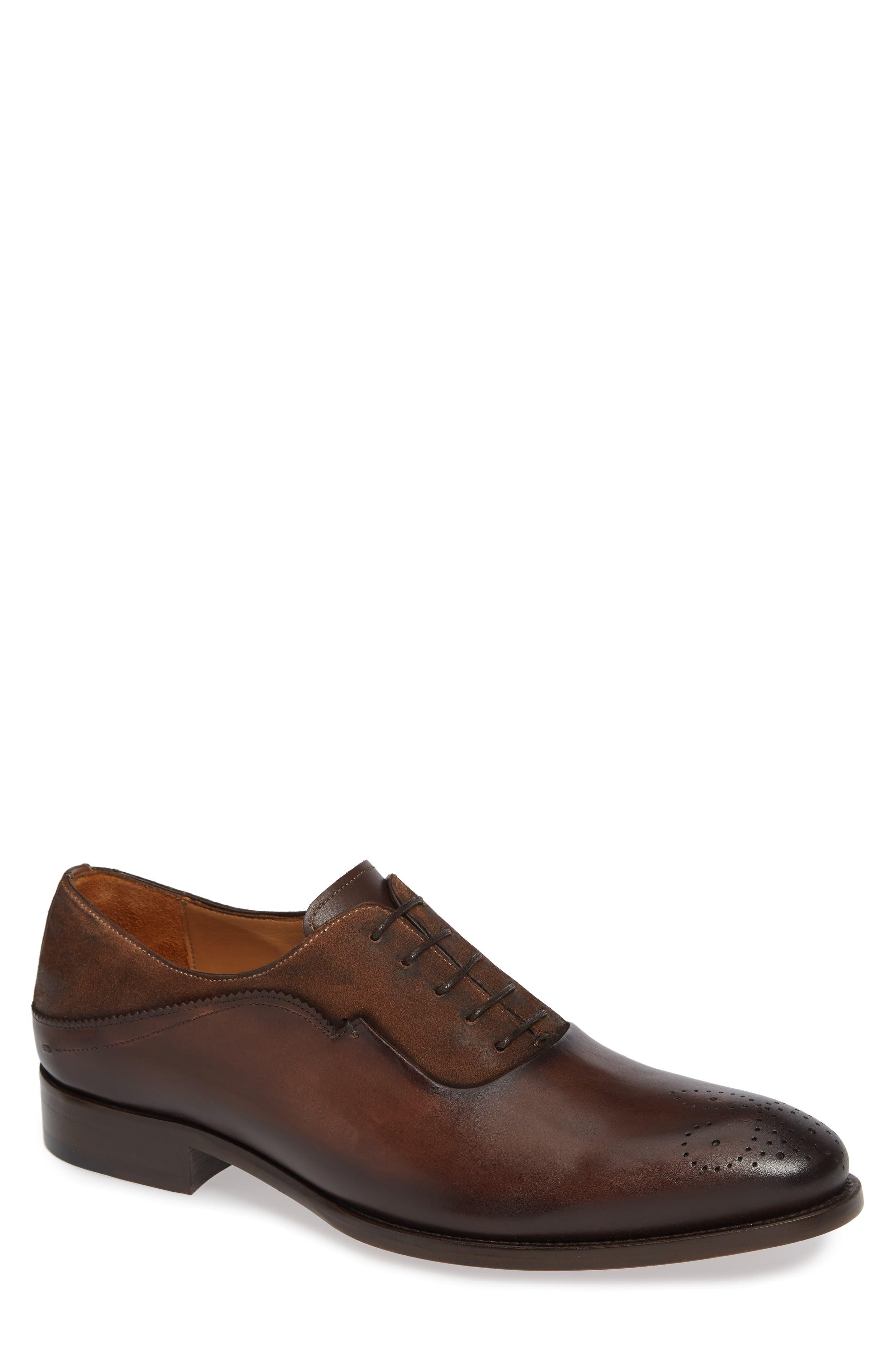 Mezlan Hanks Longwing Oxford, Brown