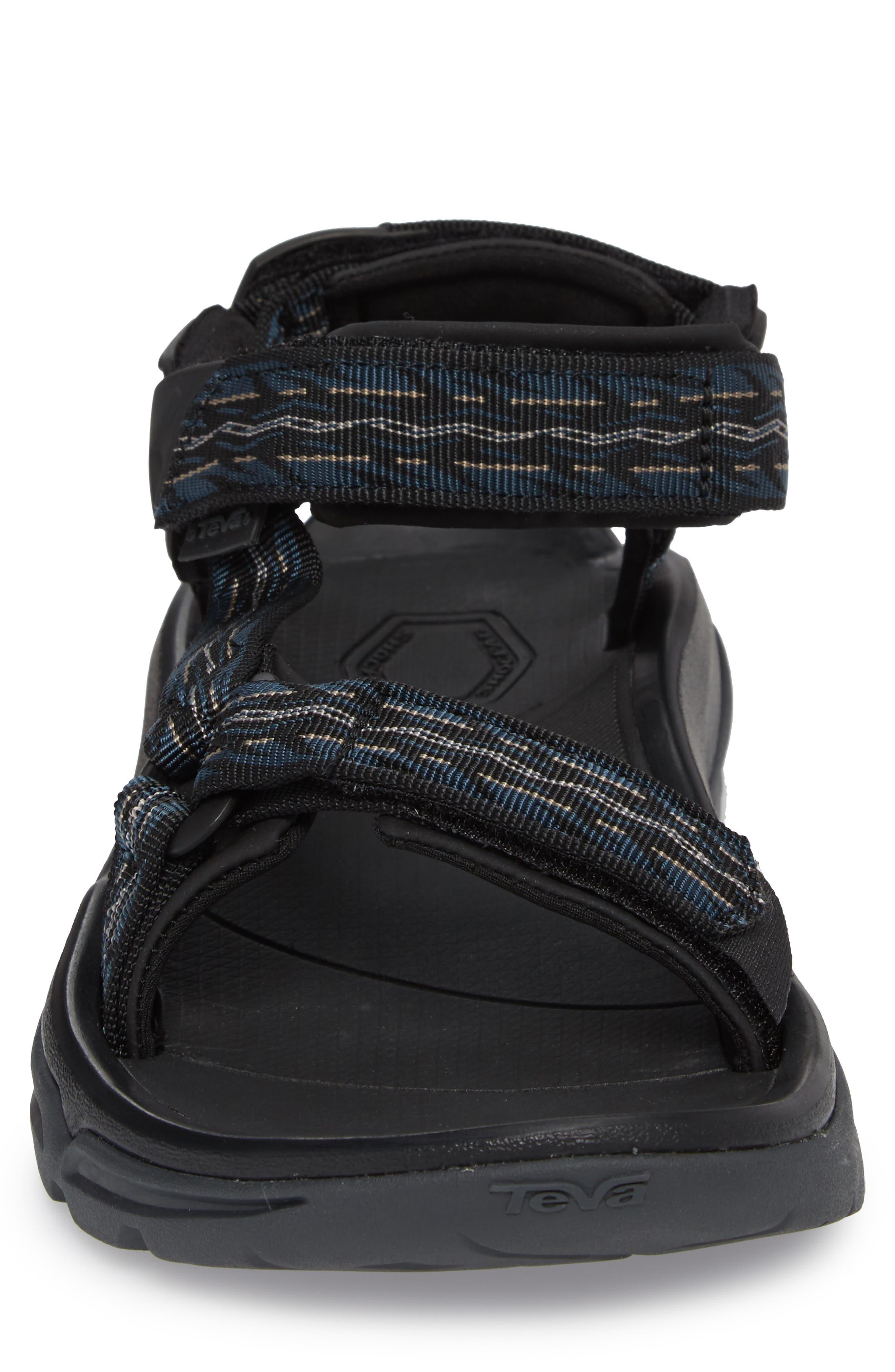 TEVA, Terra Fi 4 Sport Sandal, Alternate thumbnail 4, color, MIDNIGHT BLUE NYLON