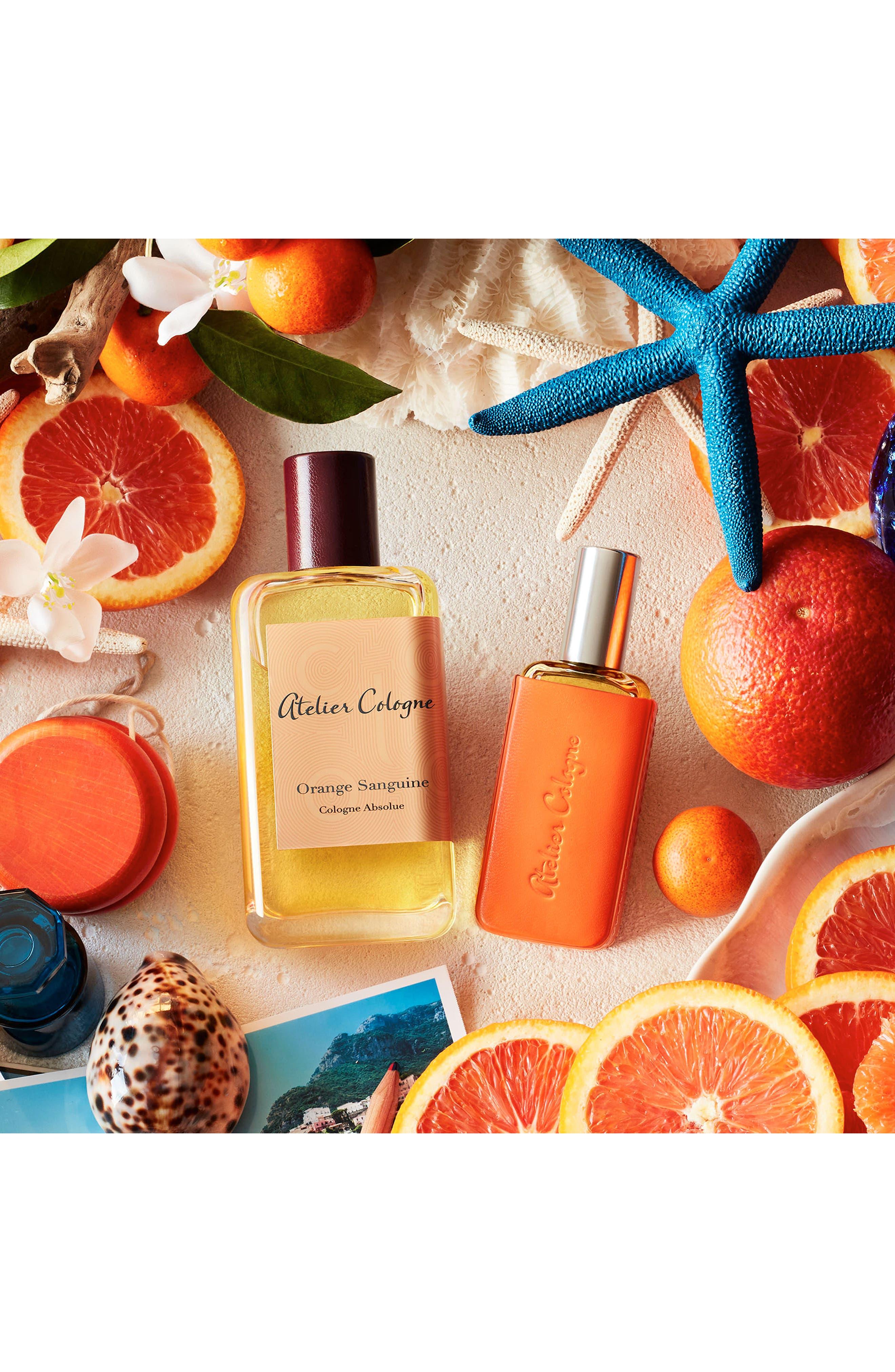 ATELIER COLOGNE, Orange Sanguine Cologne Absolue, Alternate thumbnail 3, color, NO COLOR