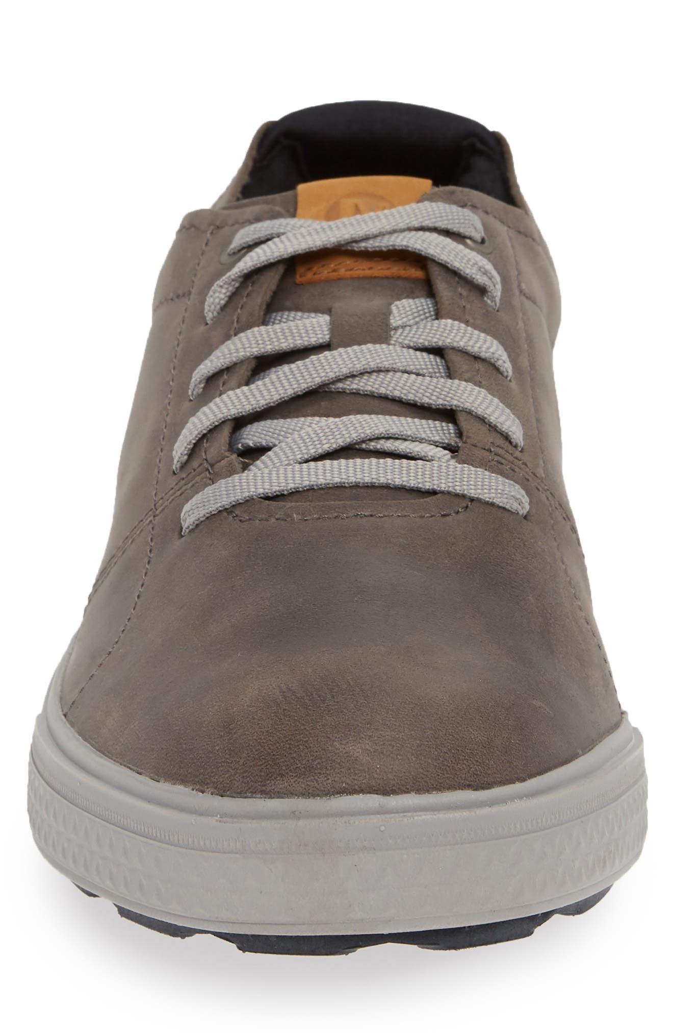 MERRELL, Barkley Sneaker, Alternate thumbnail 4, color, CASTLE ROCK