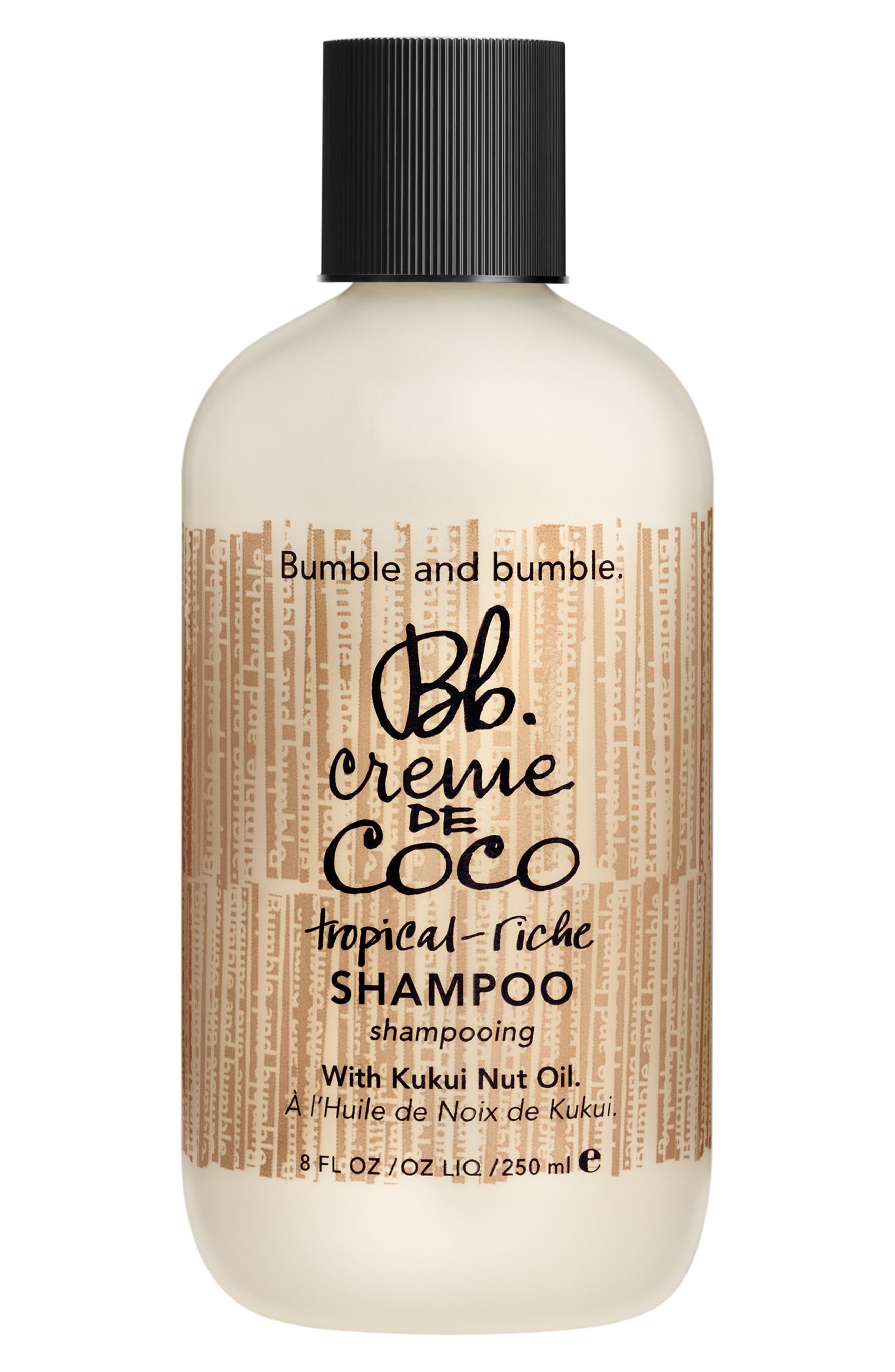 BUMBLE AND BUMBLE. Bumble and bumble Creme de Coco Shampoo, Main, color, NO COLOR