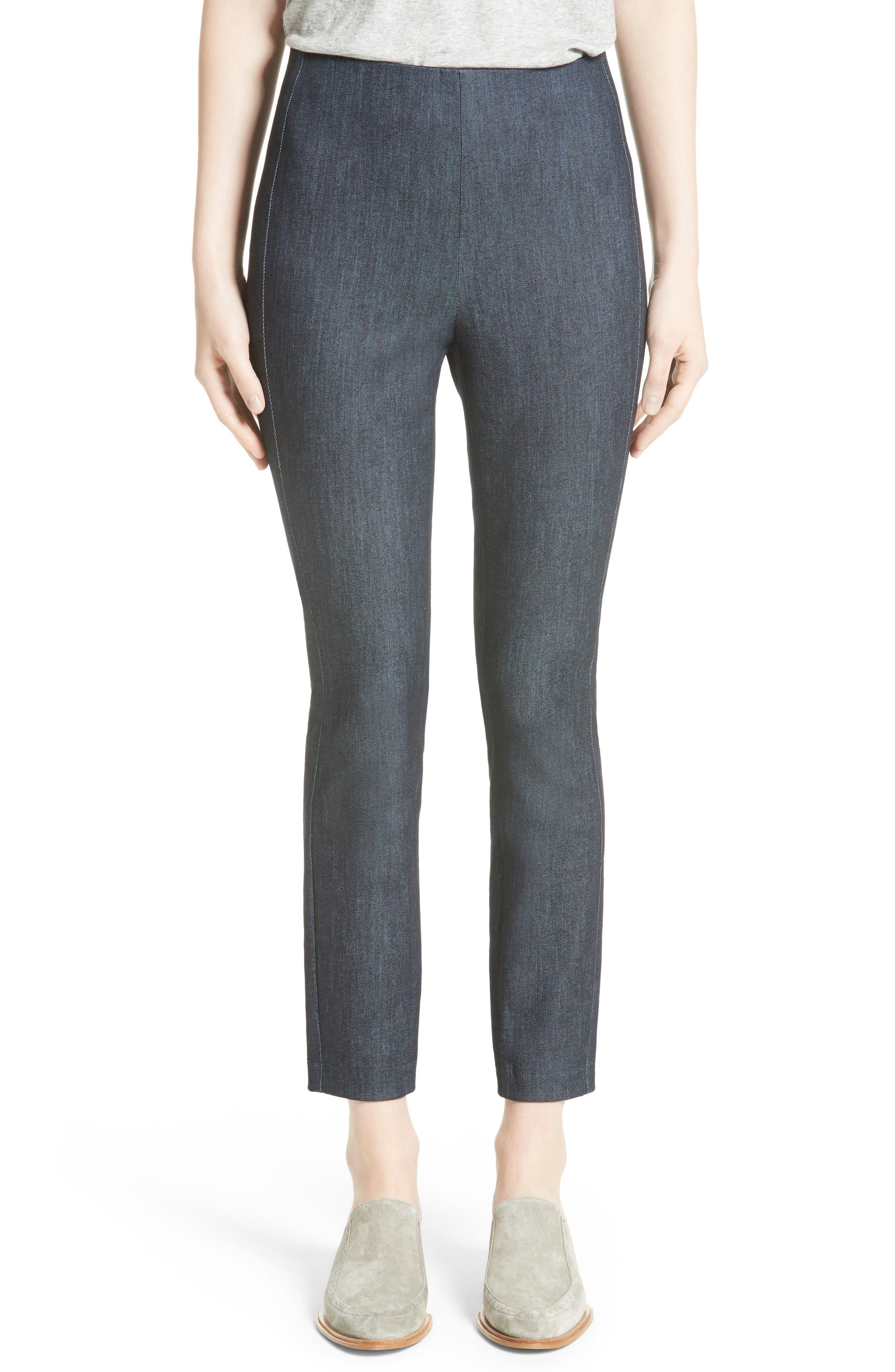 RAG & BONE Simone Slim Ankle Pants, Main, color, INDIGO