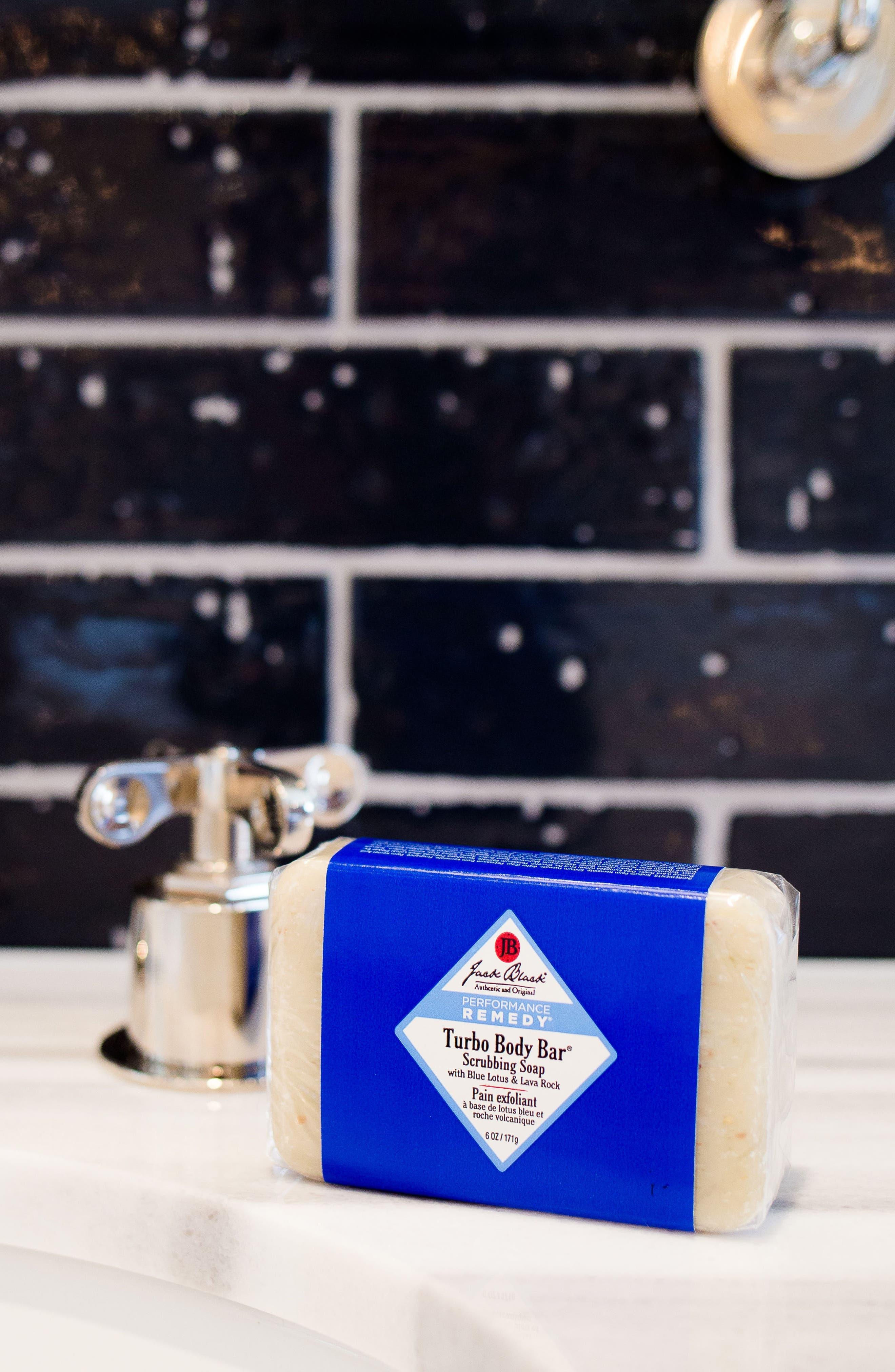 JACK BLACK, Turbo Body Bar Scrubbing Soap, Alternate thumbnail 4, color, NO COLOR