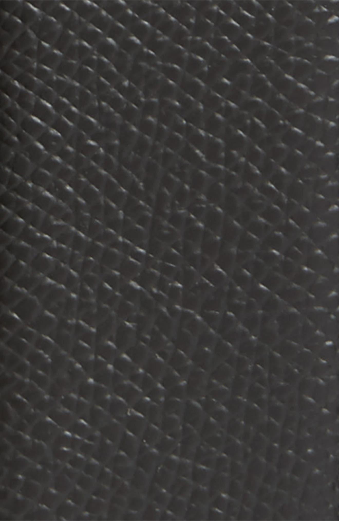 SALVATORE FERRAGAMO, Reversible Leather Belt, Alternate thumbnail 3, color, NERO / T.MORO