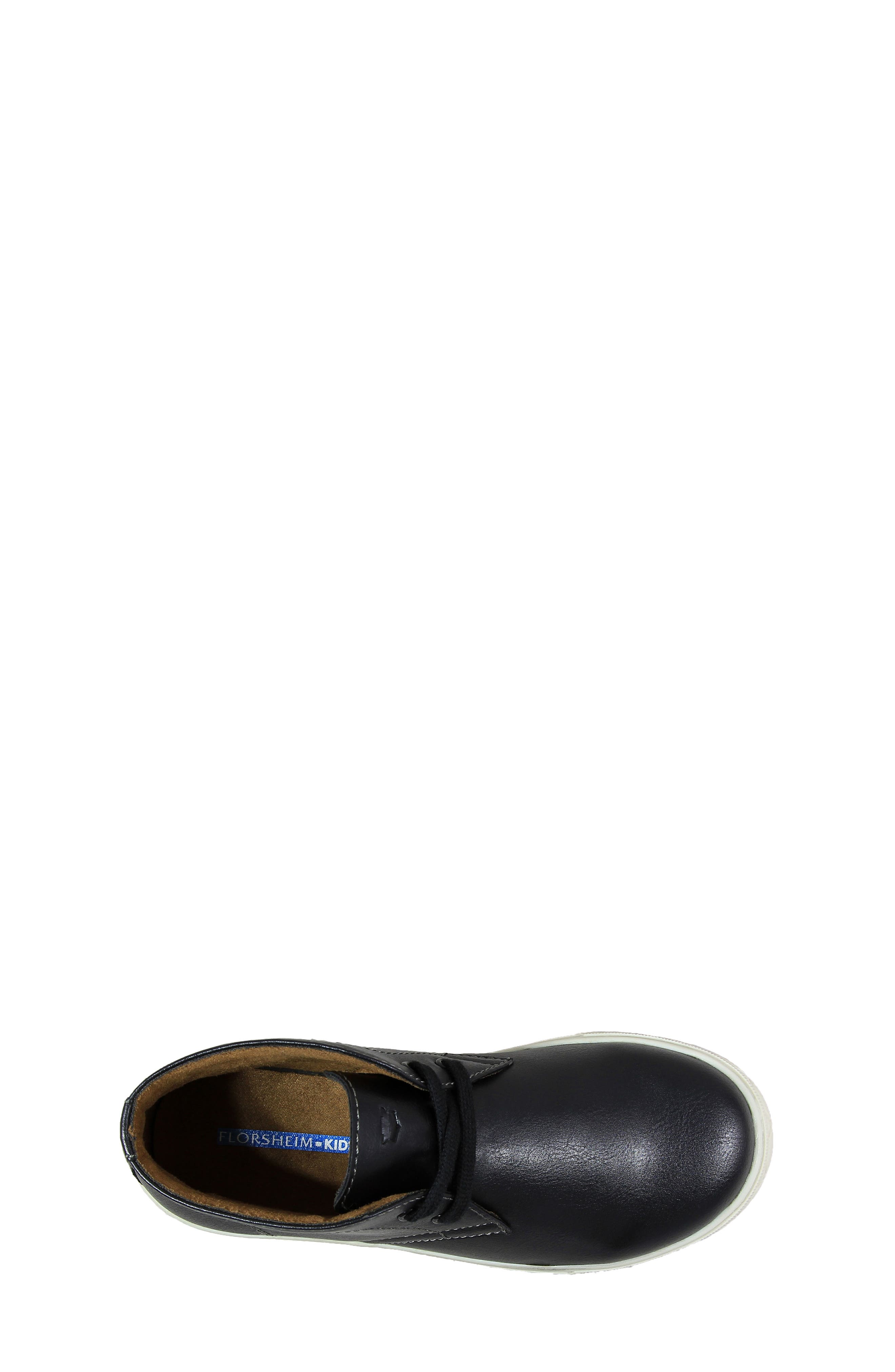 FLORSHEIM, Curb Chukka Sneaker Boot, Alternate thumbnail 4, color, 001