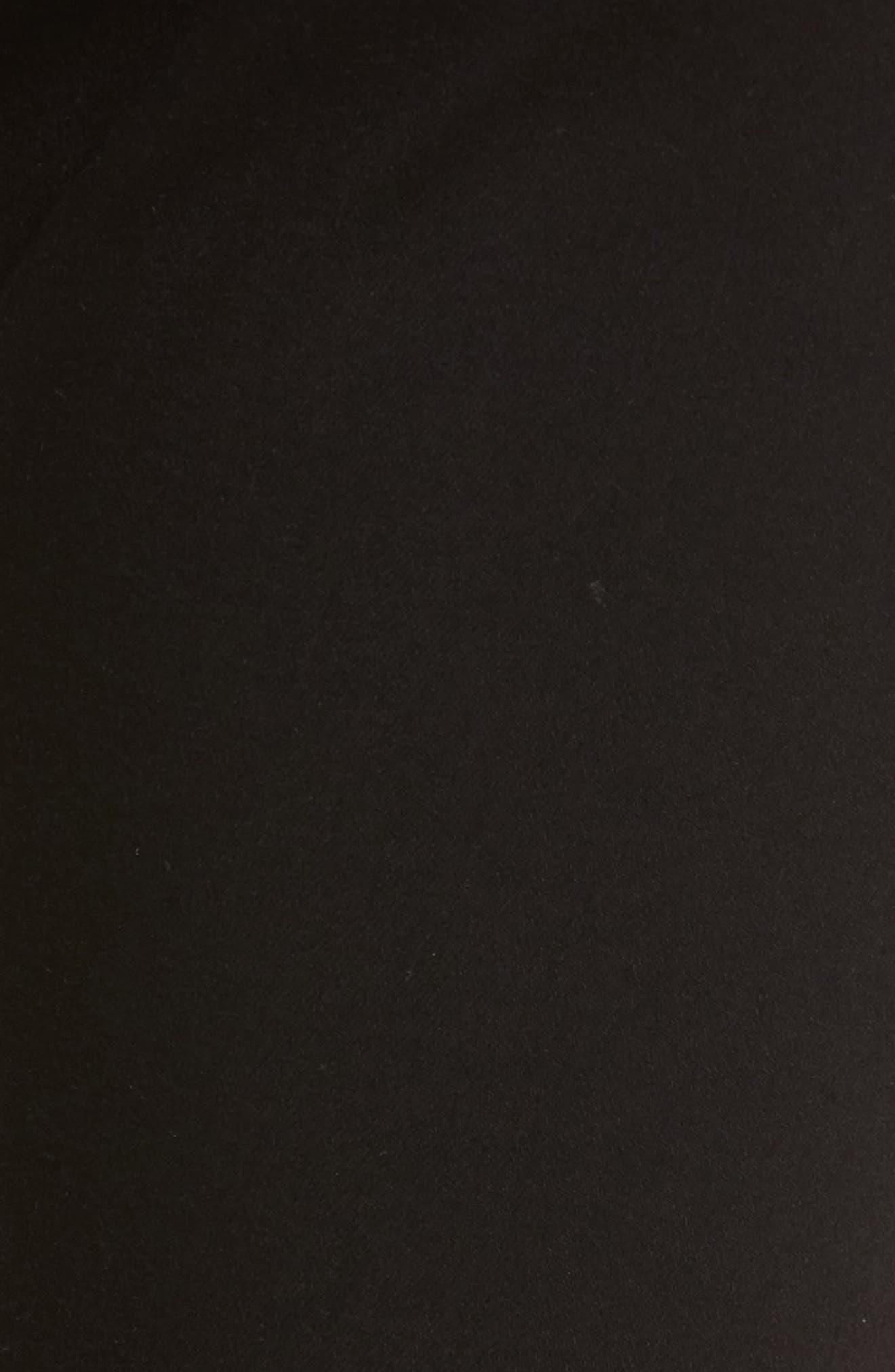 AG, Farrah High Waist Ankle Skinny Jeans, Alternate thumbnail 6, color, SUPER BLACK