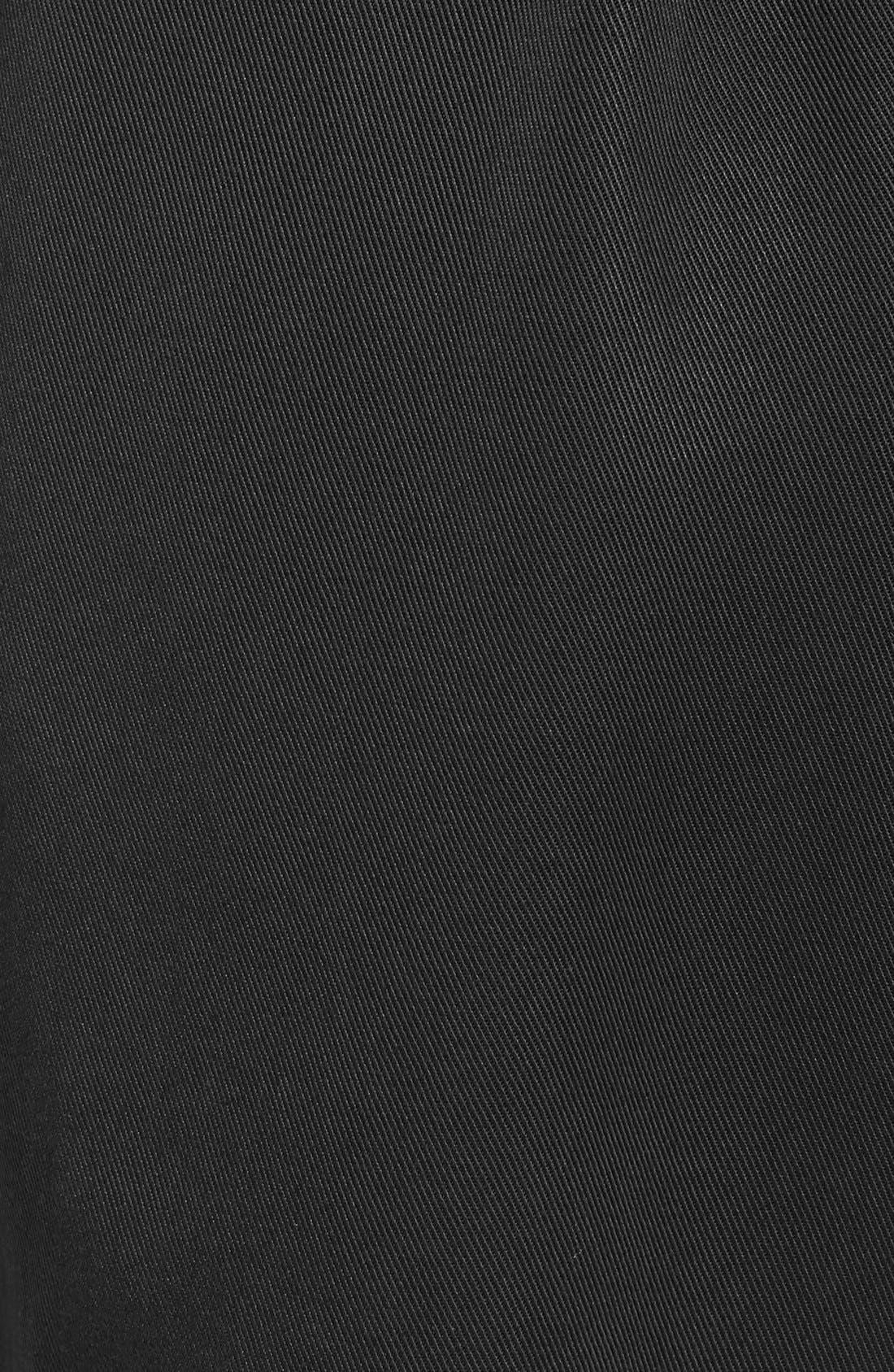 CHLOE & KATIE, Paperbag Shorts, Alternate thumbnail 5, color, 001