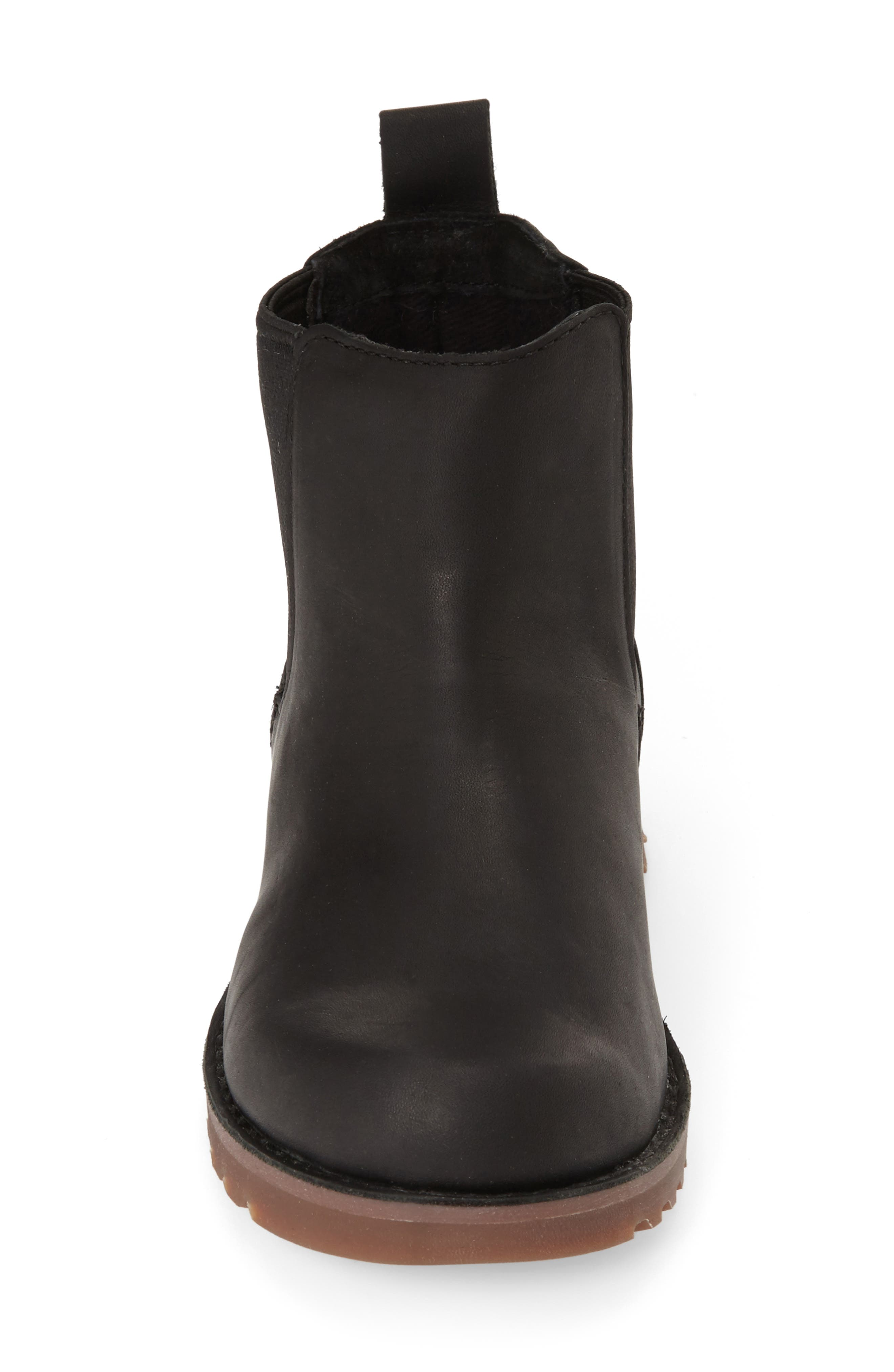 UGG<SUP>®</SUP>, Callum Water Resistant Chelsea Boot, Alternate thumbnail 2, color, BLACK/ BLACK