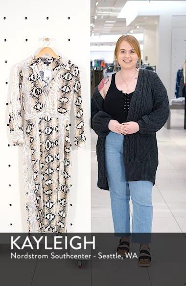 Print Pleated Shirtdress, sales video thumbnail