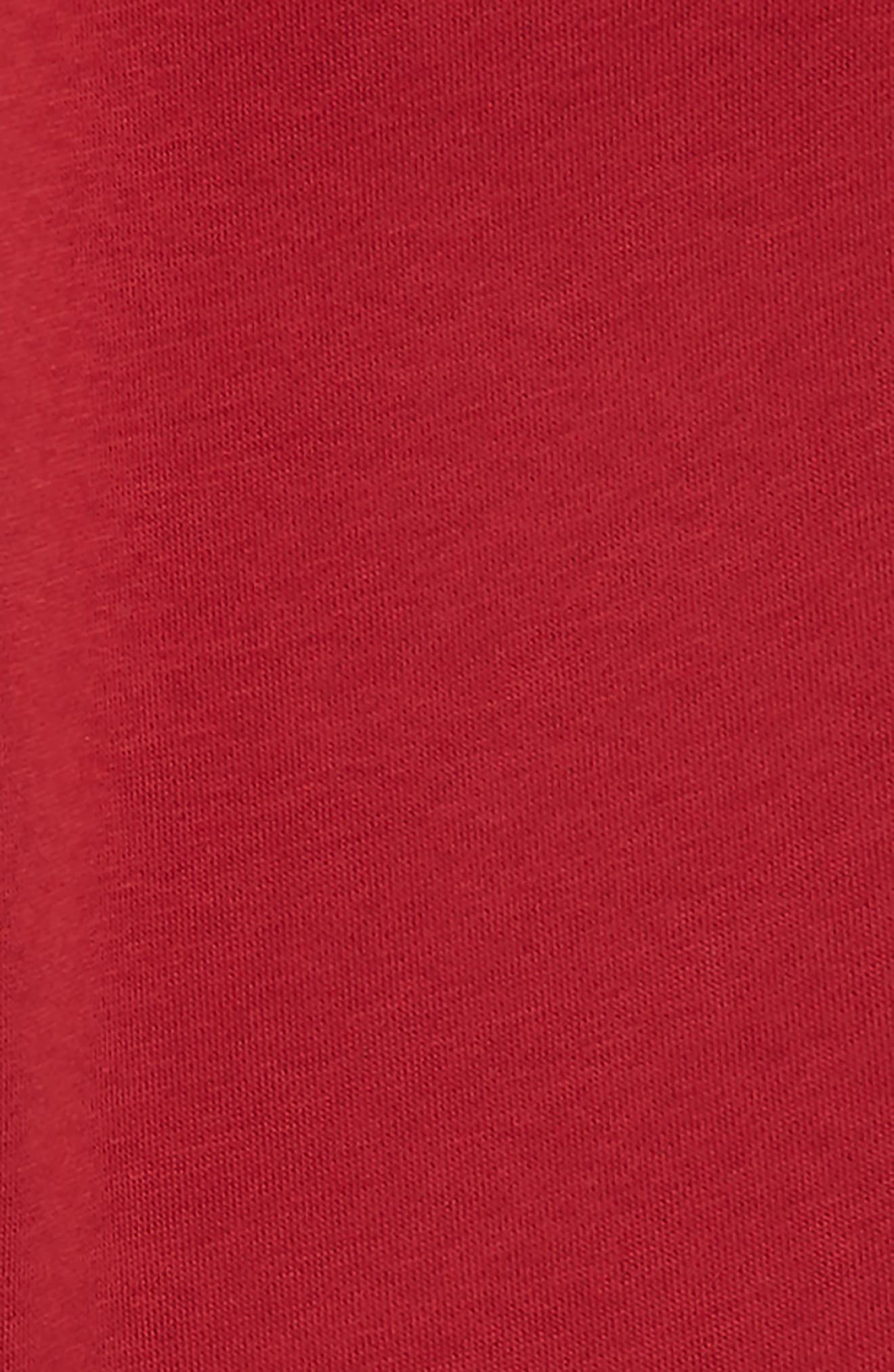 LACOSTE, Fleece Pants, Alternate thumbnail 2, color, LIGHTHOUSE RED
