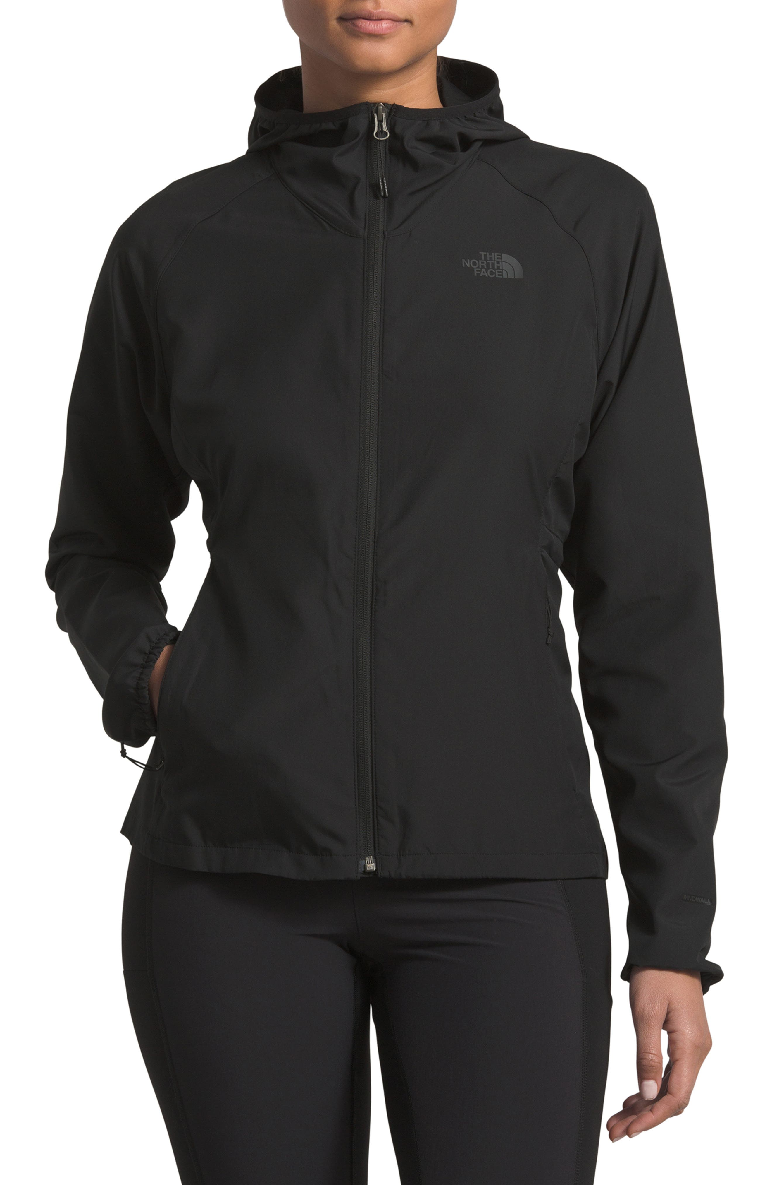 THE NORTH FACE Flyweight Hooded Jacket, Main, color, 001