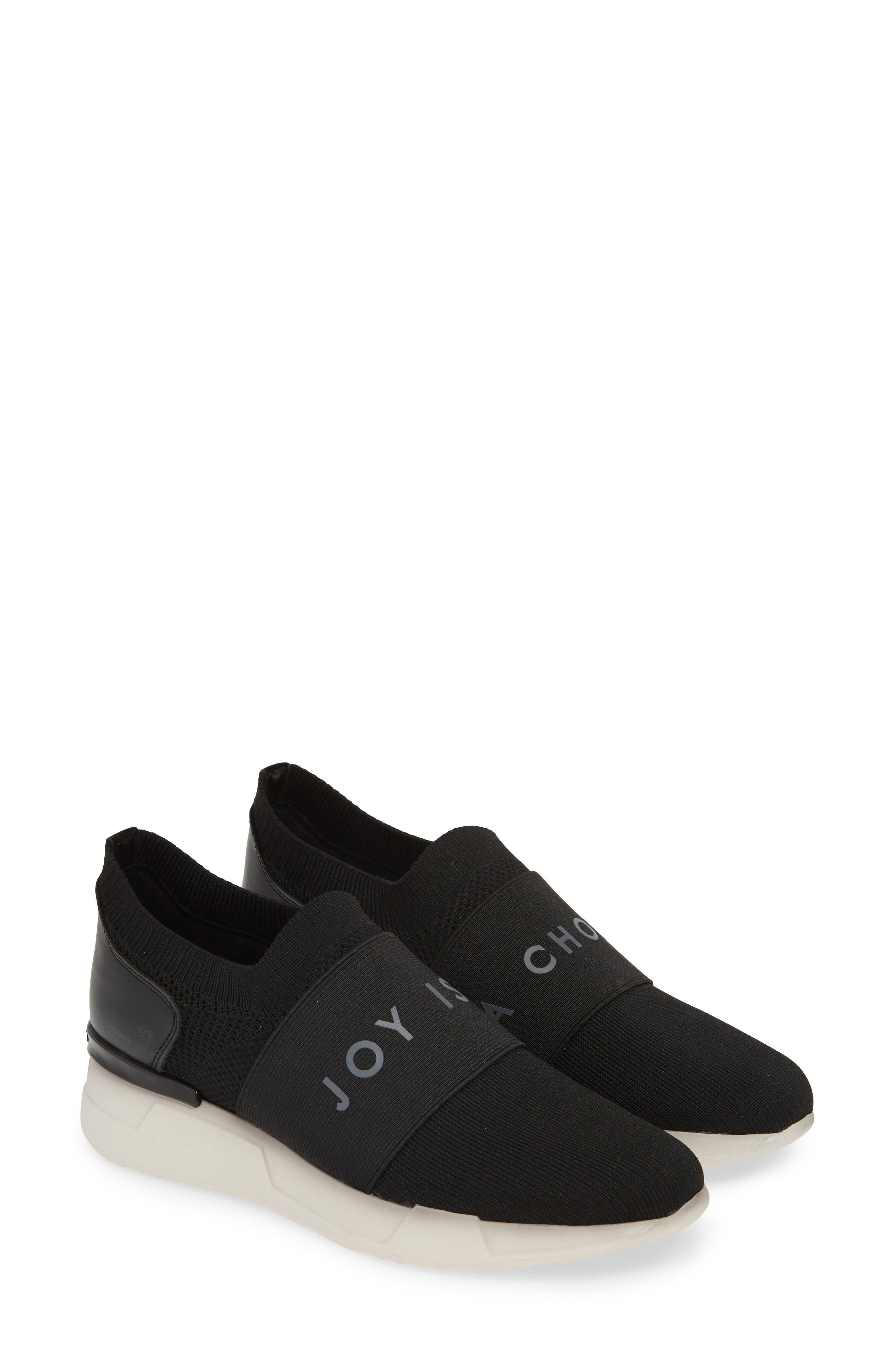 HISPANITAS, Spence Joy Is Choice Sock-Knit Sneaker, Alternate thumbnail 2, color, BLACK/ WHITE FABRIC