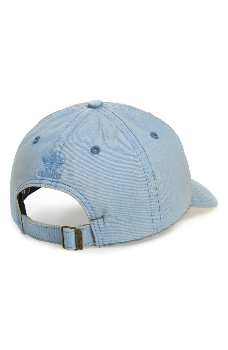 9cee8380 Adidas Originals Originals Relaxed Overdyed Baseball Cap In Tactic ...