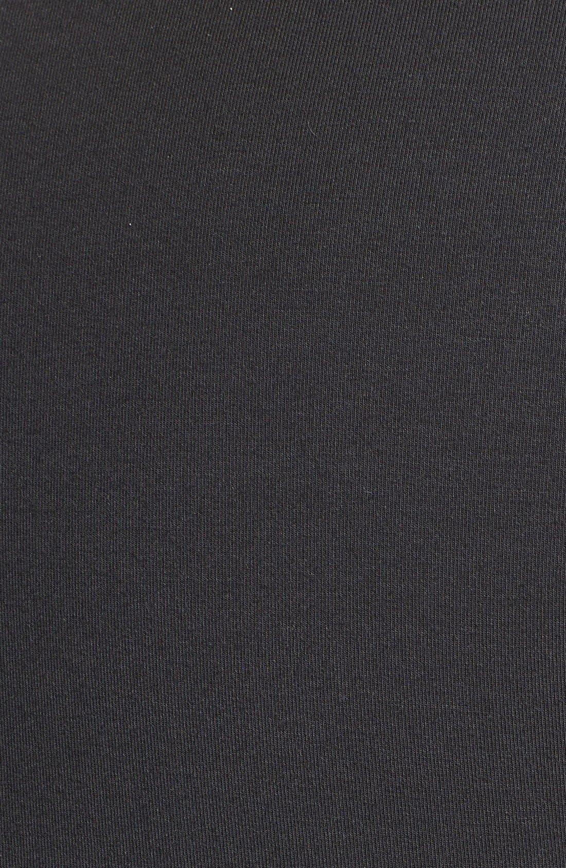 TART MATERNITY, 'Whitney' Maternity Dress, Alternate thumbnail 3, color, BLACK