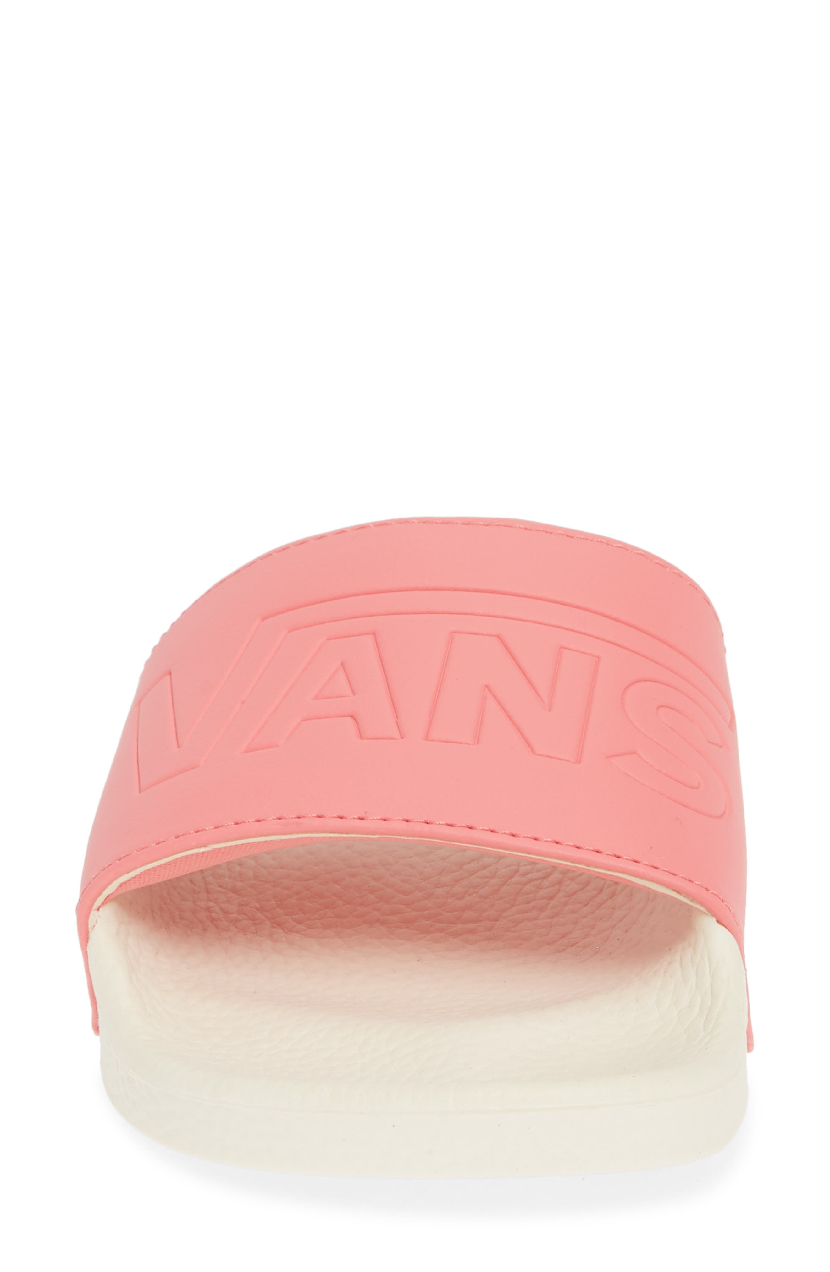 VANS, Slide-On Sandal, Alternate thumbnail 4, color, STRAWBERRY PINK