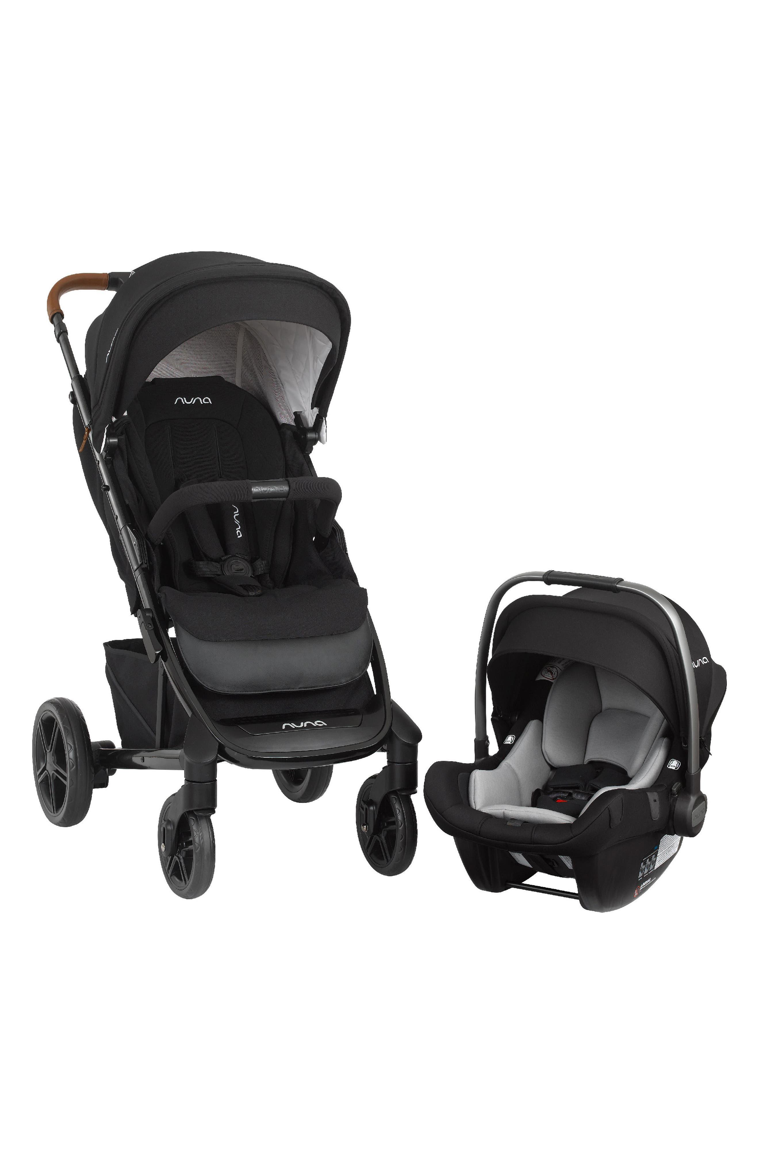 NUNA, 2019 TAVO<sup>™</sup> Stroller & PIPA<sup>™</sup> Lite LX Car Seat Travel System, Main thumbnail 1, color, CAVIAR
