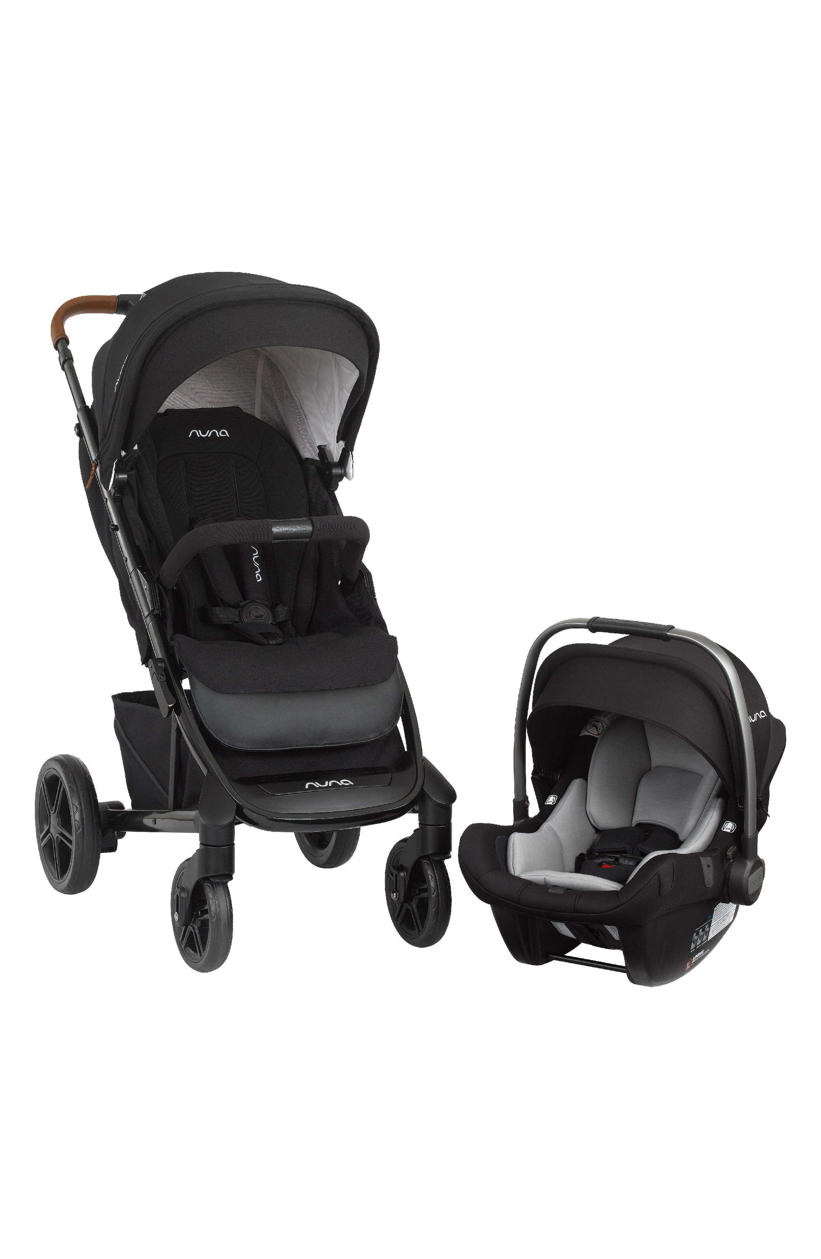 NUNA 2019 TAVO<sup>™</sup> Stroller & PIPA<sup>™</sup> Lite LX Car Seat Travel System, Main, color, CAVIAR