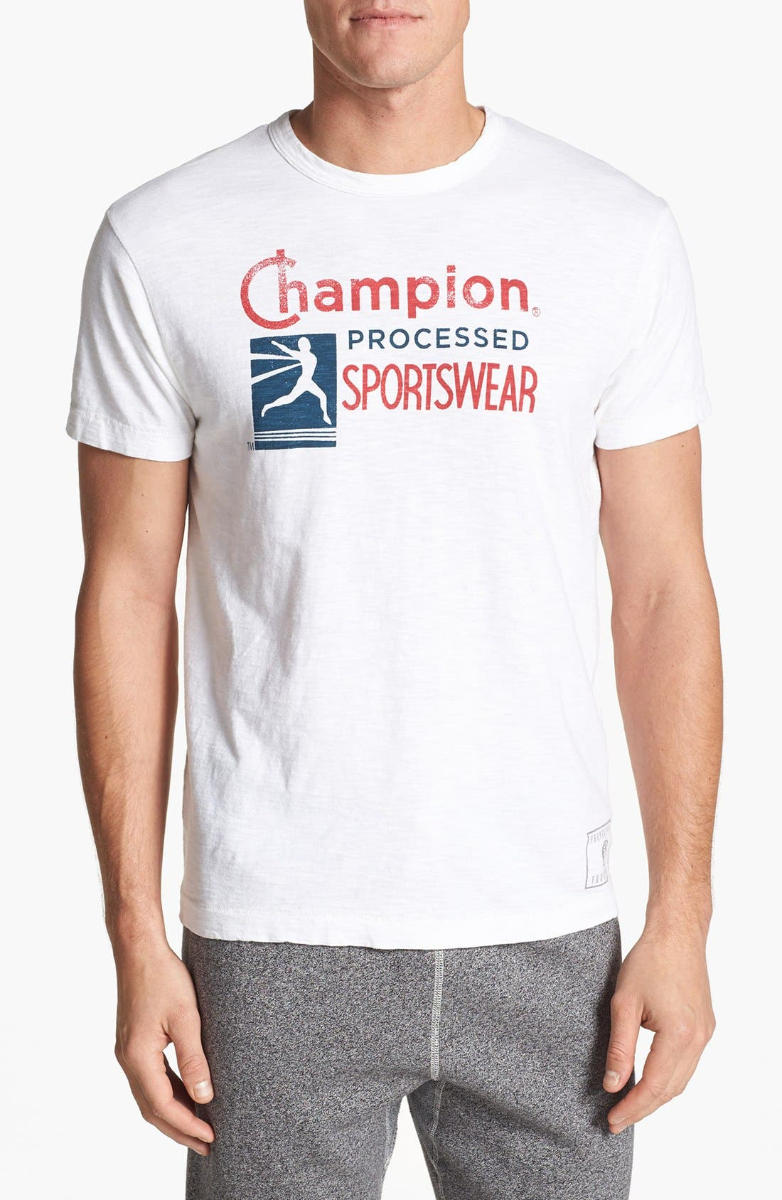 TODD SNYDER + CHAMPION, 'Process' T-Shirt, Main thumbnail 1, color, 100