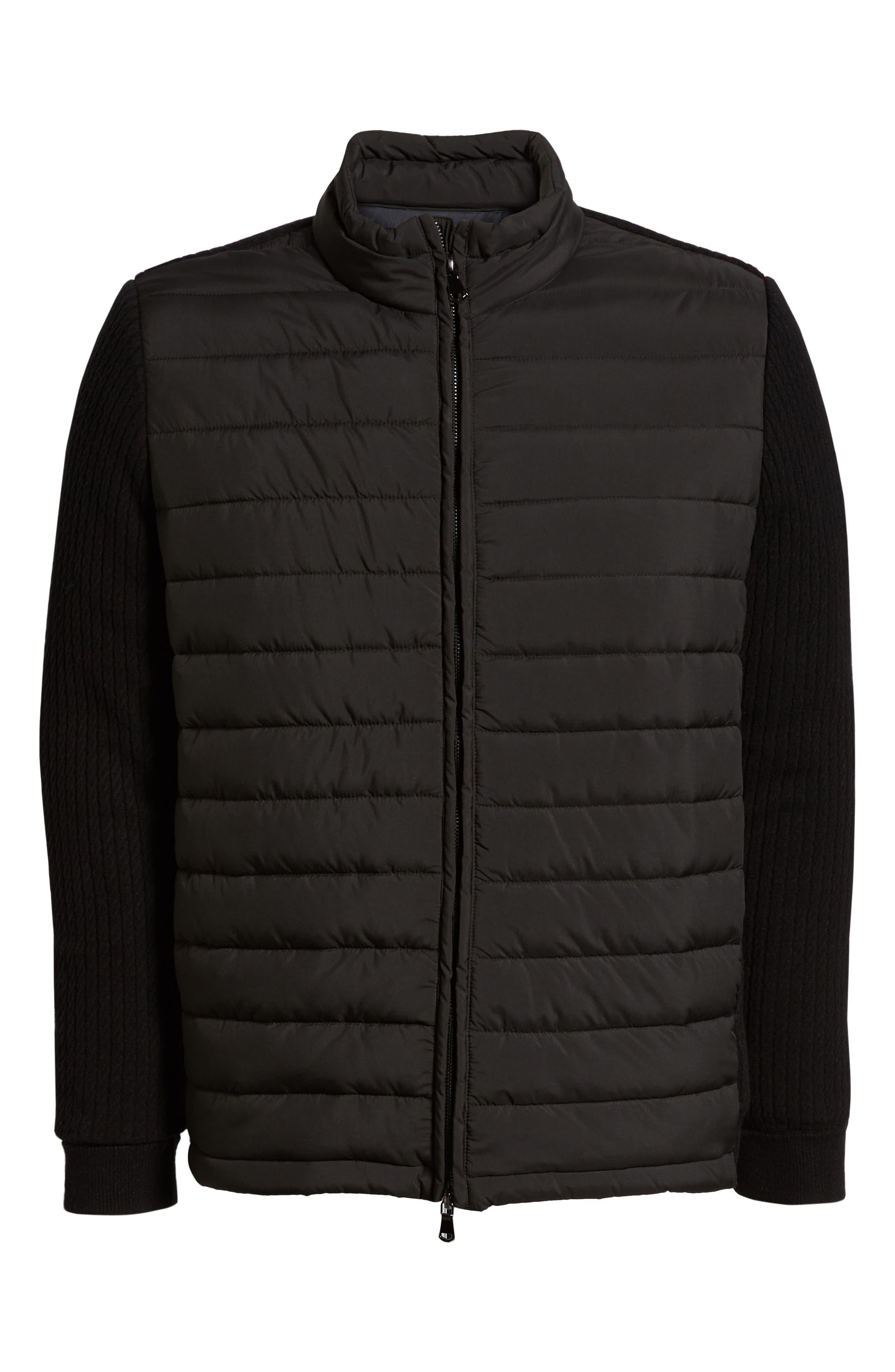 ZACHARY PRELL, Federal Jacket, Alternate thumbnail 6, color, BLACK