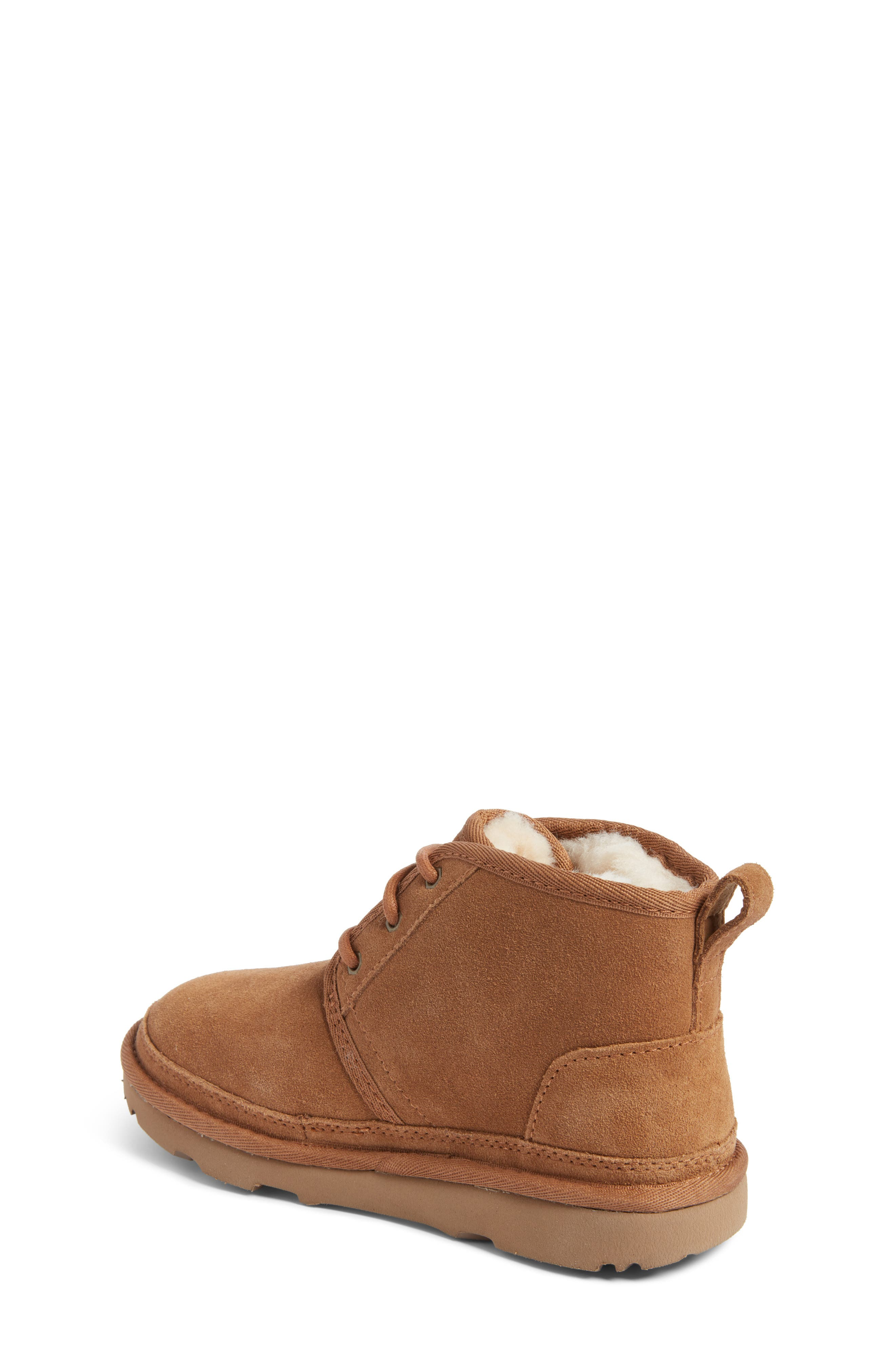 UGG<SUP>®</SUP>, Neumel II Water Resistant Chukka Boot, Alternate thumbnail 2, color, CHESTNUT BROWN