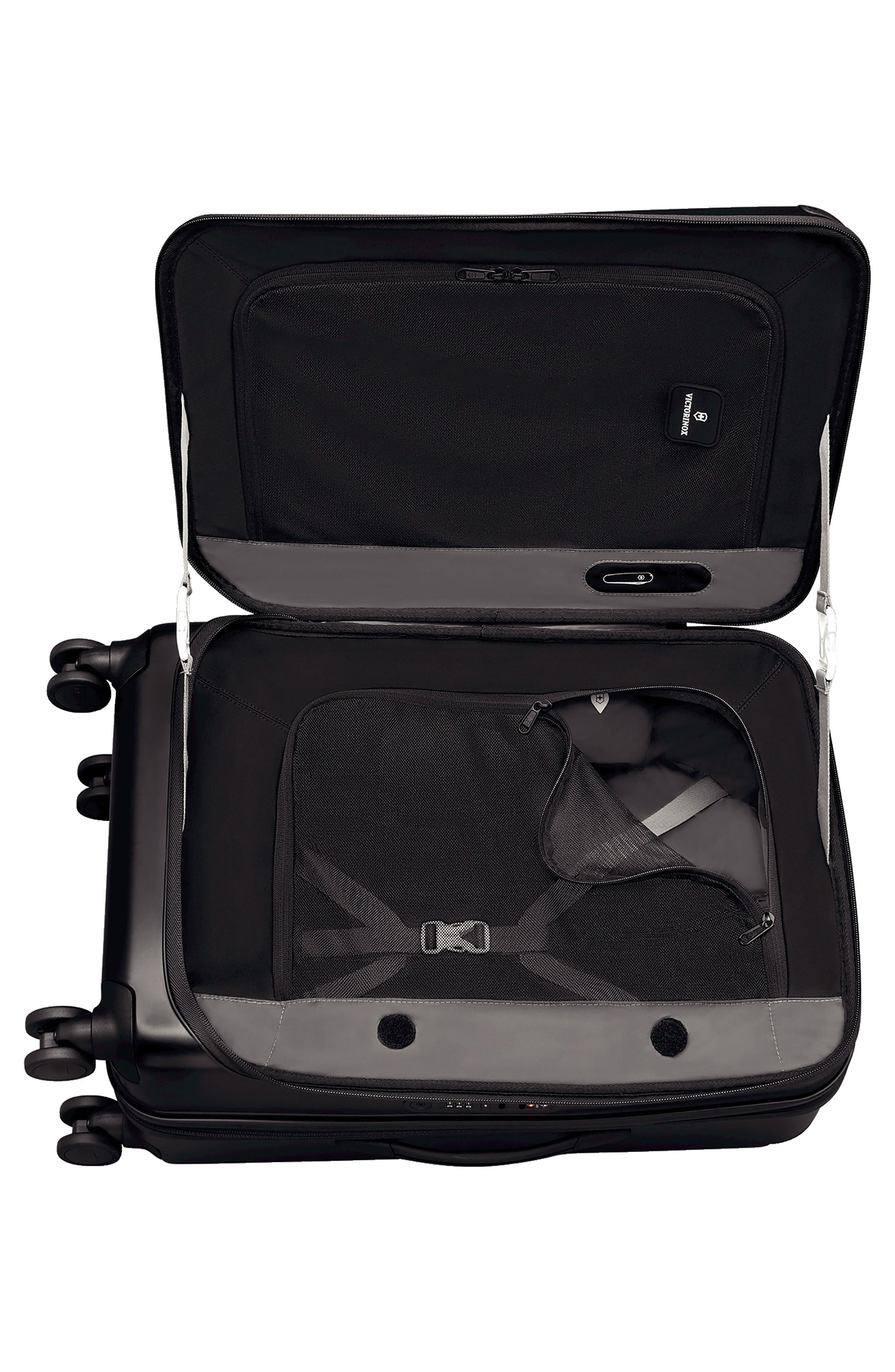 VICTORINOX SWISS ARMY<SUP>®</SUP>, Spectra 2.0 Hard Sided Rolling 27-Inch Travel Suitcase, Alternate thumbnail 2, color, BLACK