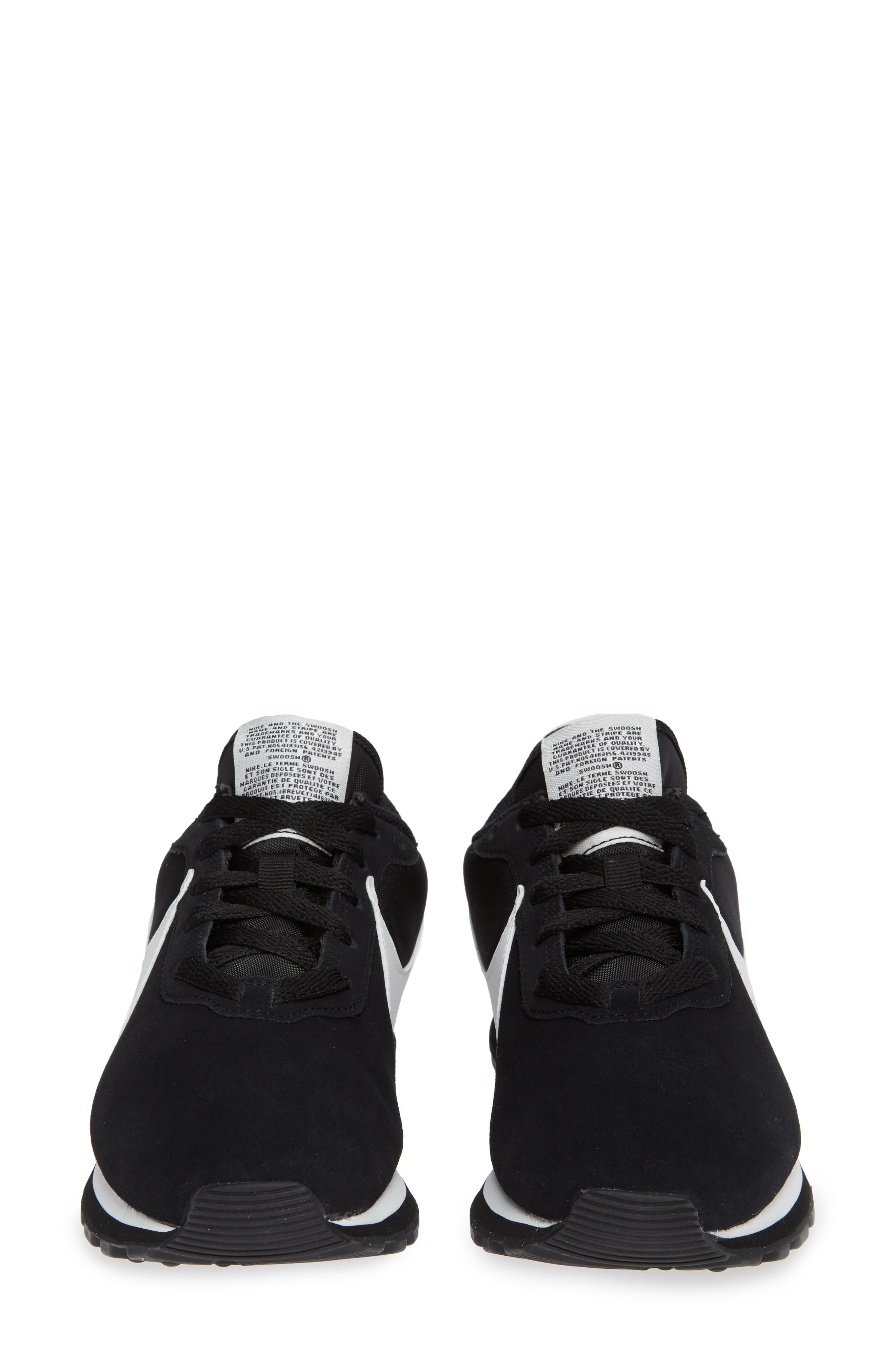 NIKE, Pre Love O.X. Sneaker, Alternate thumbnail 5, color, BLACK/ SUMMIT WHITE