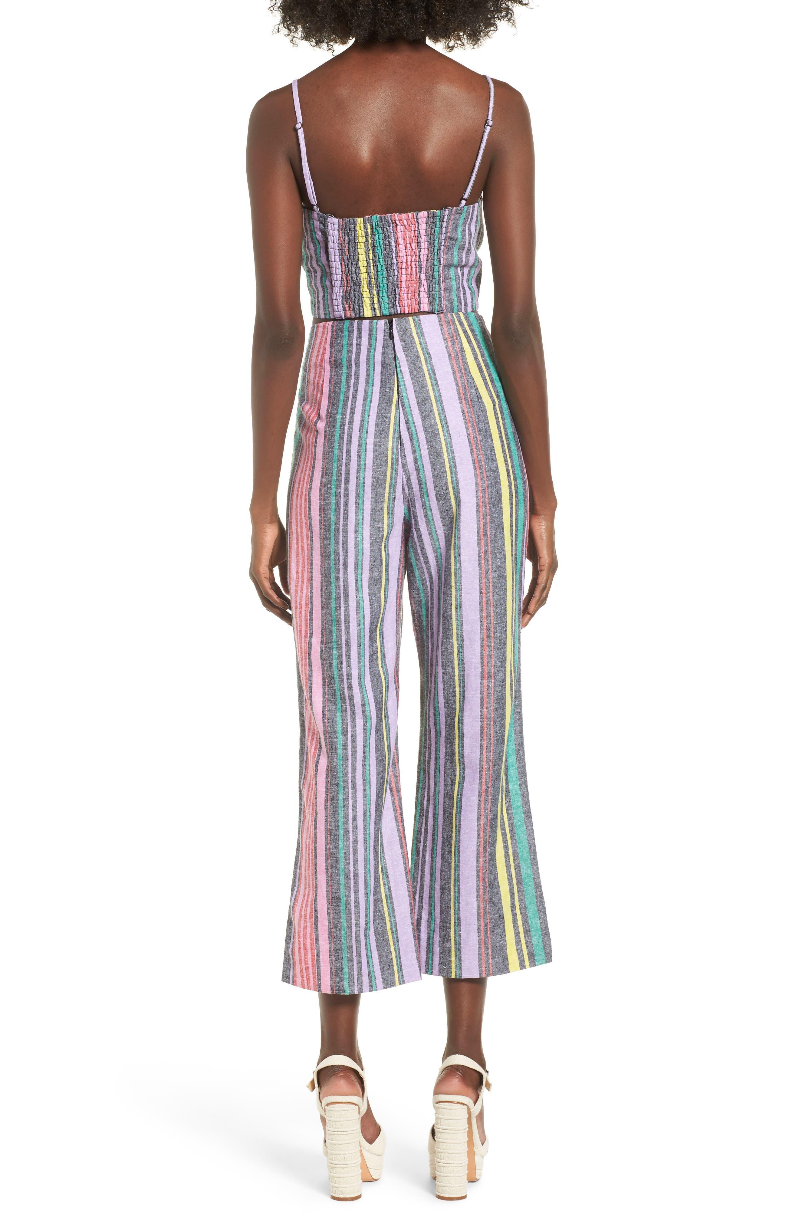 AFRM, Karina High Waist Crop Flare Pant, Alternate thumbnail 9, color, 650