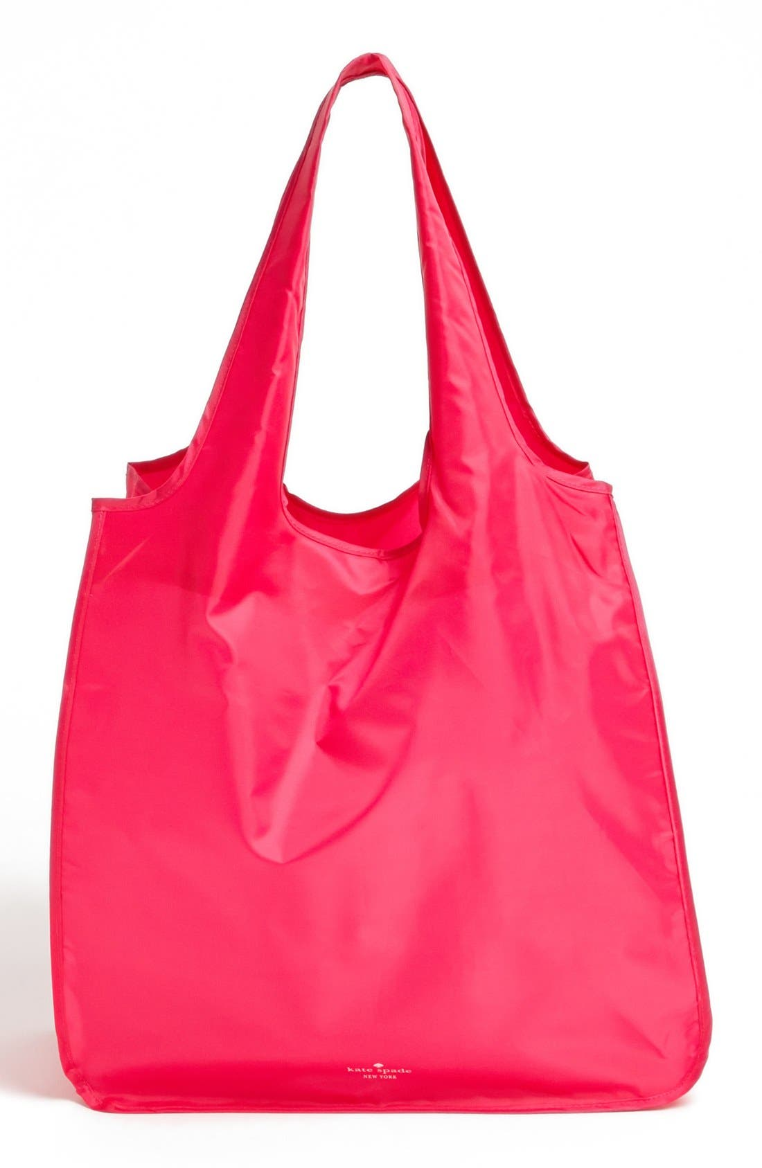 KATE SPADE NEW YORK, 'treat yourself' reusable shopping tote, Alternate thumbnail 4, color, 650