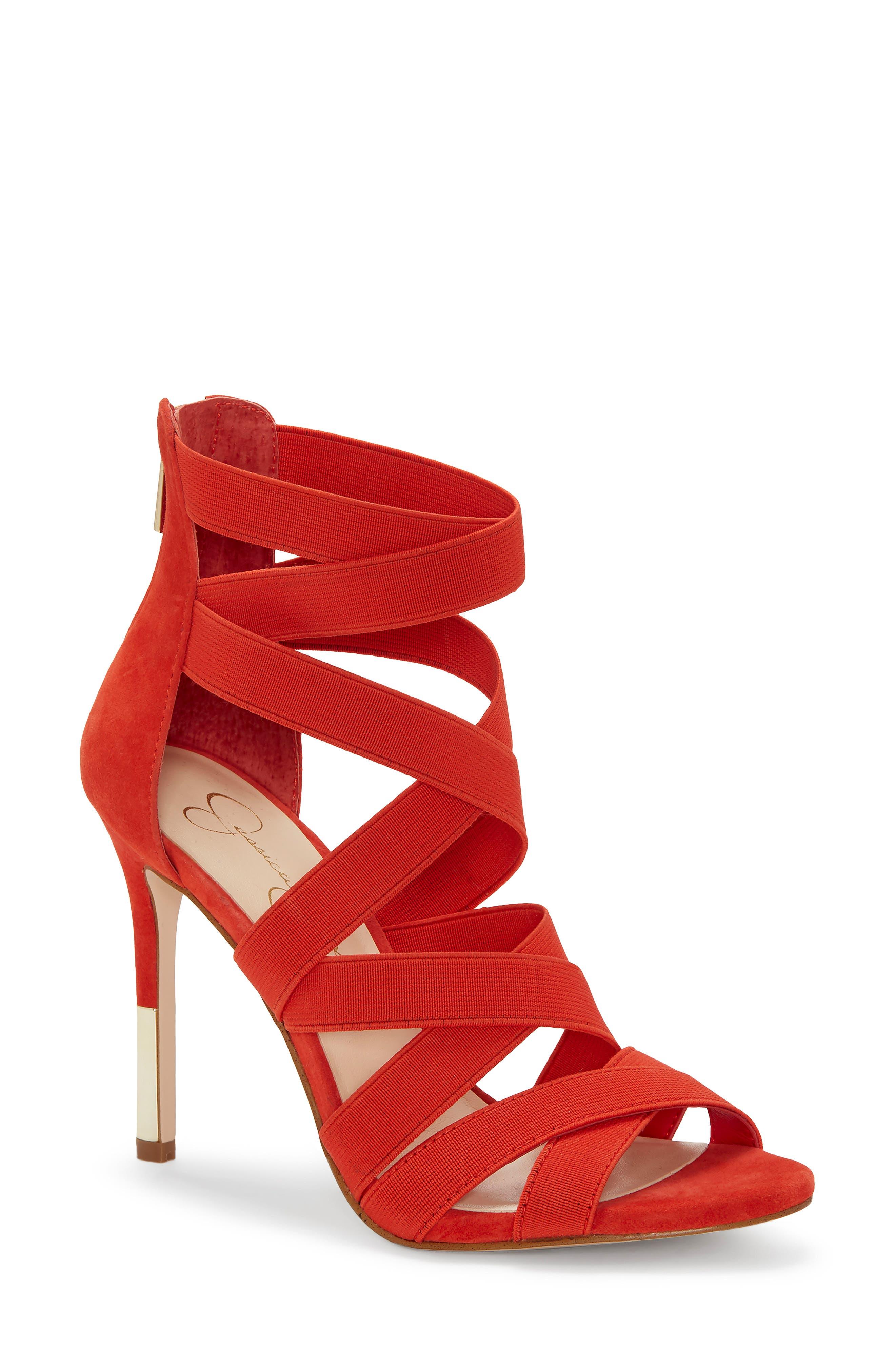 Jessica Simpson Jyra 2 Sandal, Orange