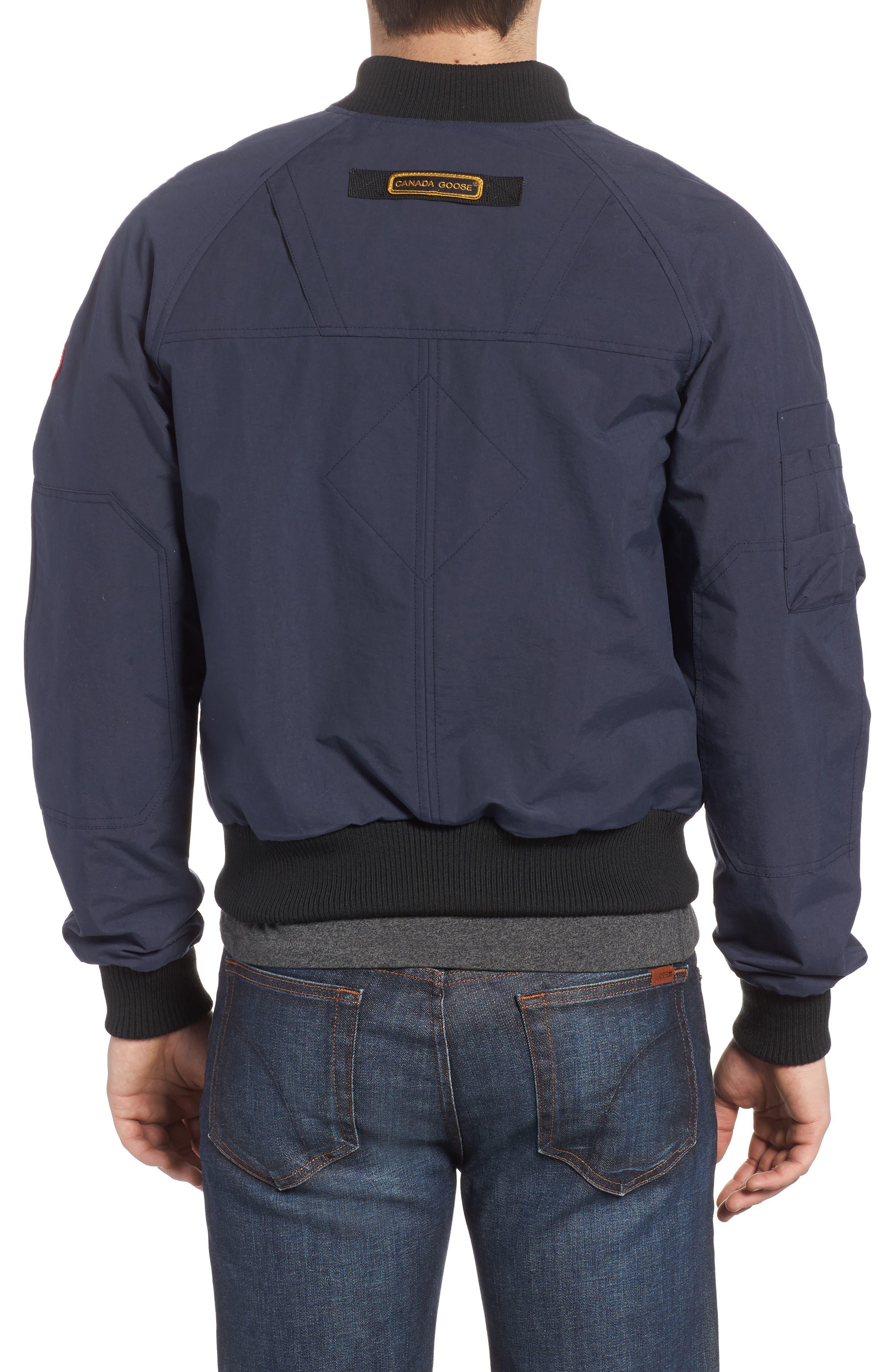 CANADA GOOSE, Faber Slim Fit Bomber Jacket, Alternate thumbnail 2, color, 400