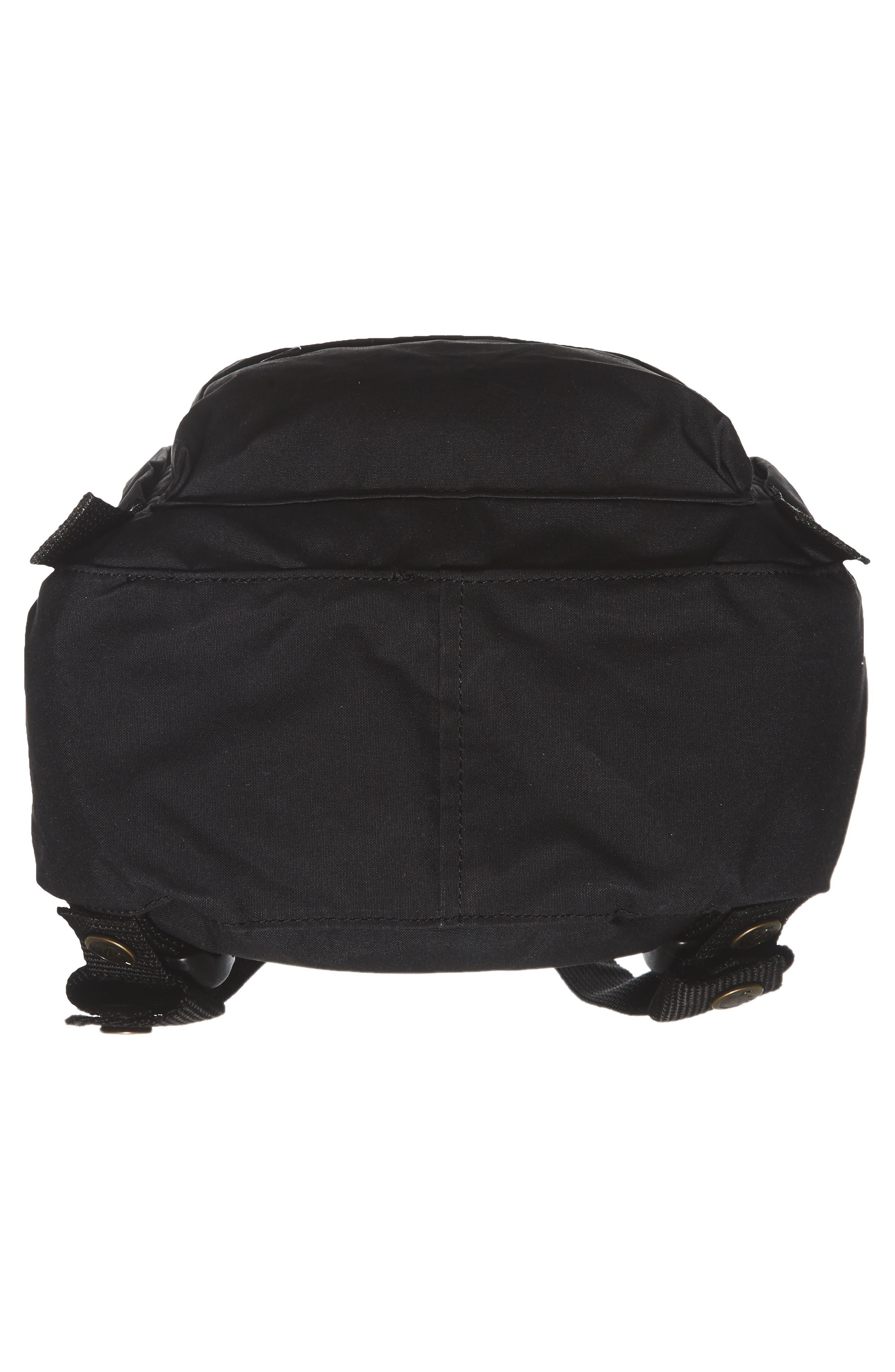 FJÄLLRÄVEN, 'Mini Kånken' Water Resistant Backpack, Alternate thumbnail 7, color, 001