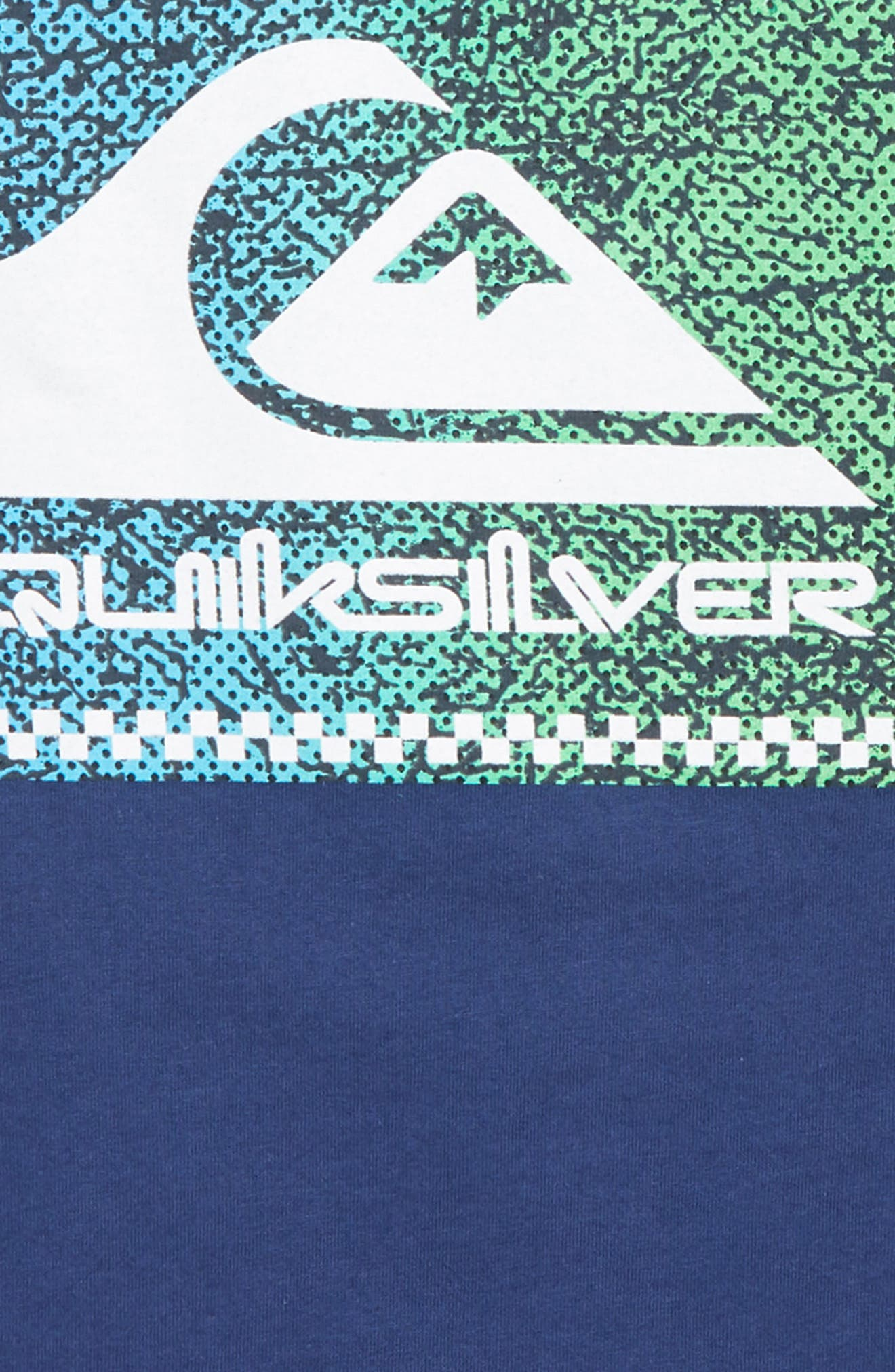 QUIKSILVER, Time Warp T-Shirt, Alternate thumbnail 3, color, MEDIEVAL BLUE