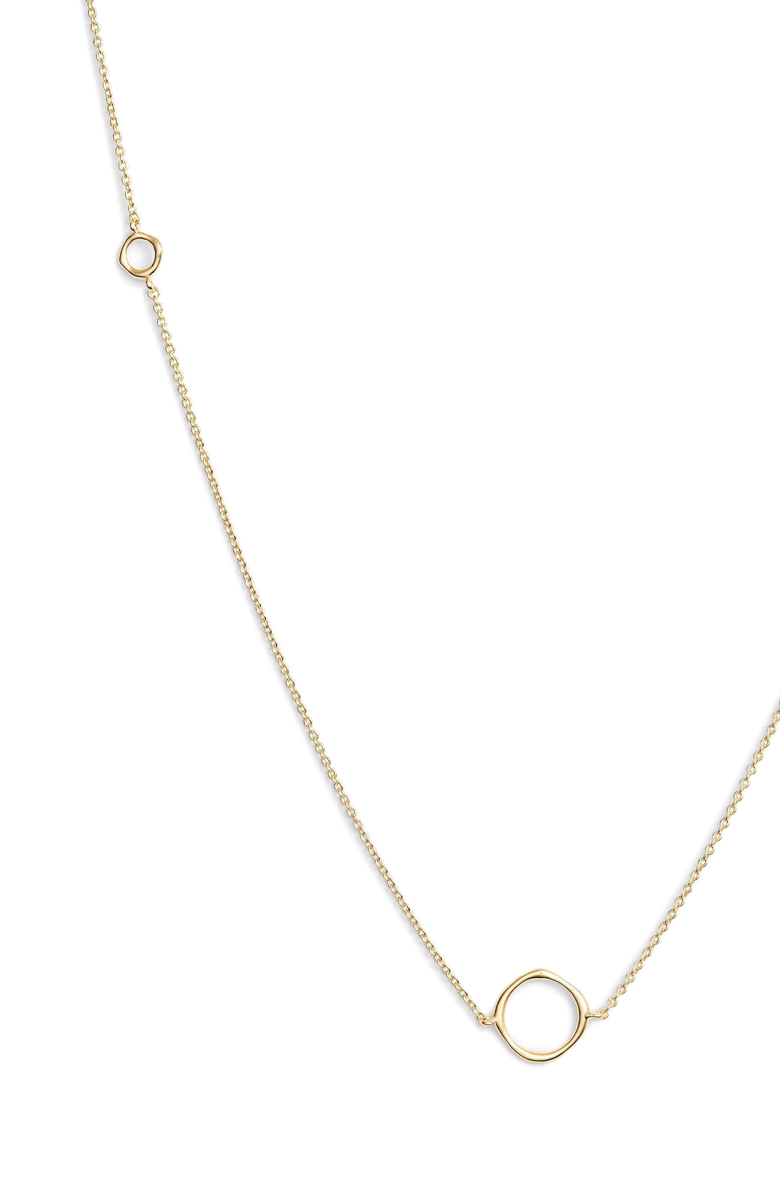 GORJANA, Quinn Wrap Necklace, Alternate thumbnail 3, color, GOLD
