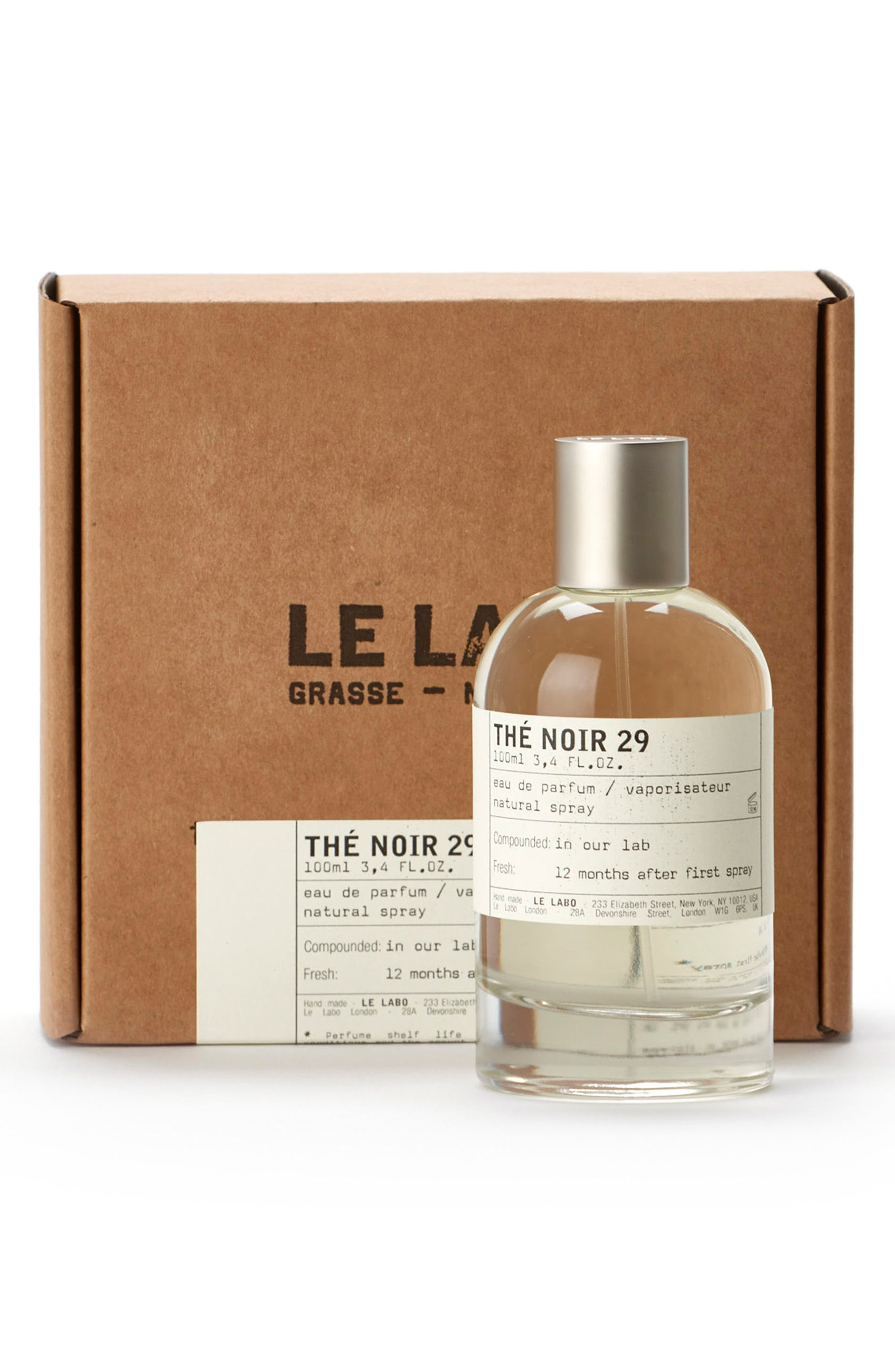 LE LABO, 'Thé Noir 29' Eau de Parfum, Alternate thumbnail 2, color, NO COLOR