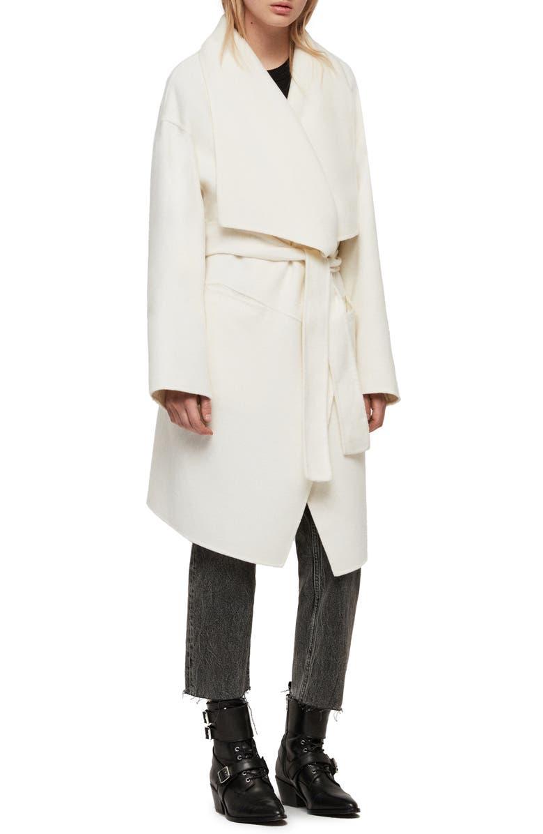 Allsaints Coats ADALEE WOOL BLEND COAT