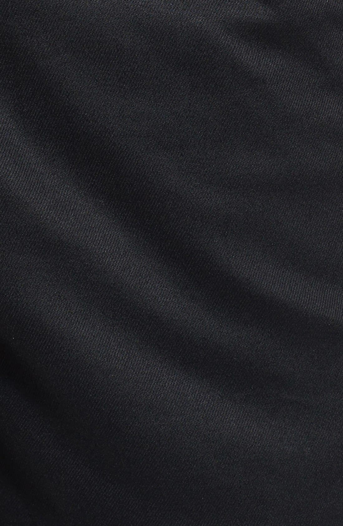 PUBLISH BRAND, 'Legacy' Tailored Fit Jogger Pants, Alternate thumbnail 4, color, 001