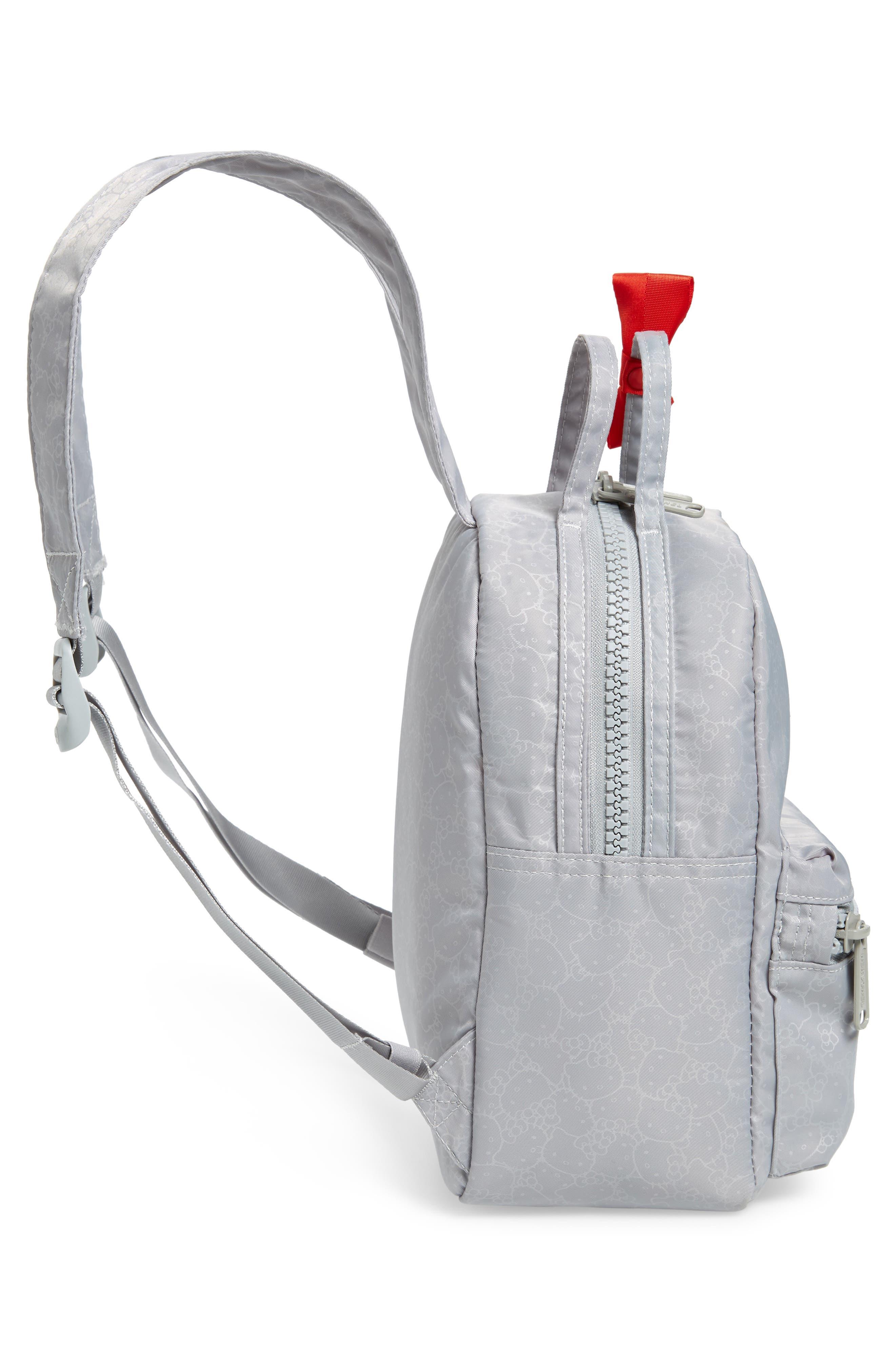 HERSCHEL SUPPLY CO., x Hello Kitty Mini Nova Backpack, Alternate thumbnail 6, color, HIGHRISE