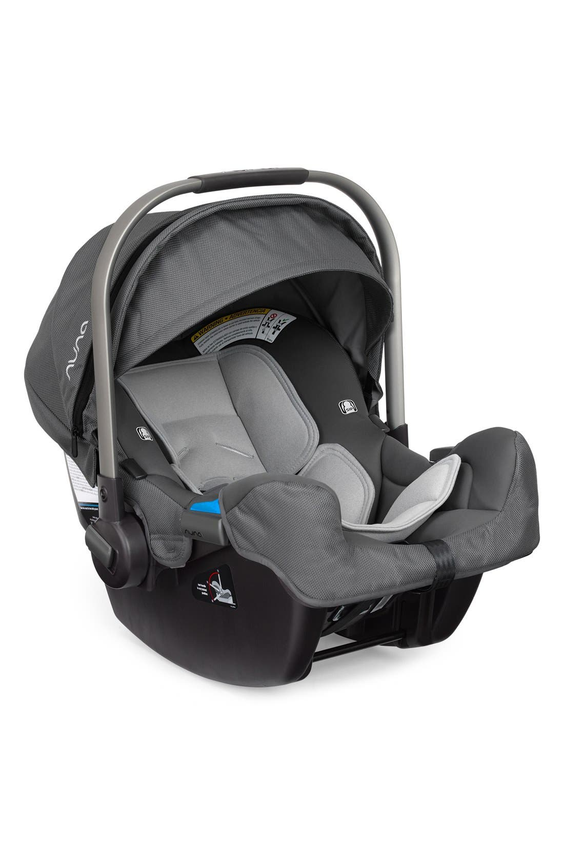 NUNA PIPA<sup>™</sup> Car Seat & Base, Main, color, GRAPHITE