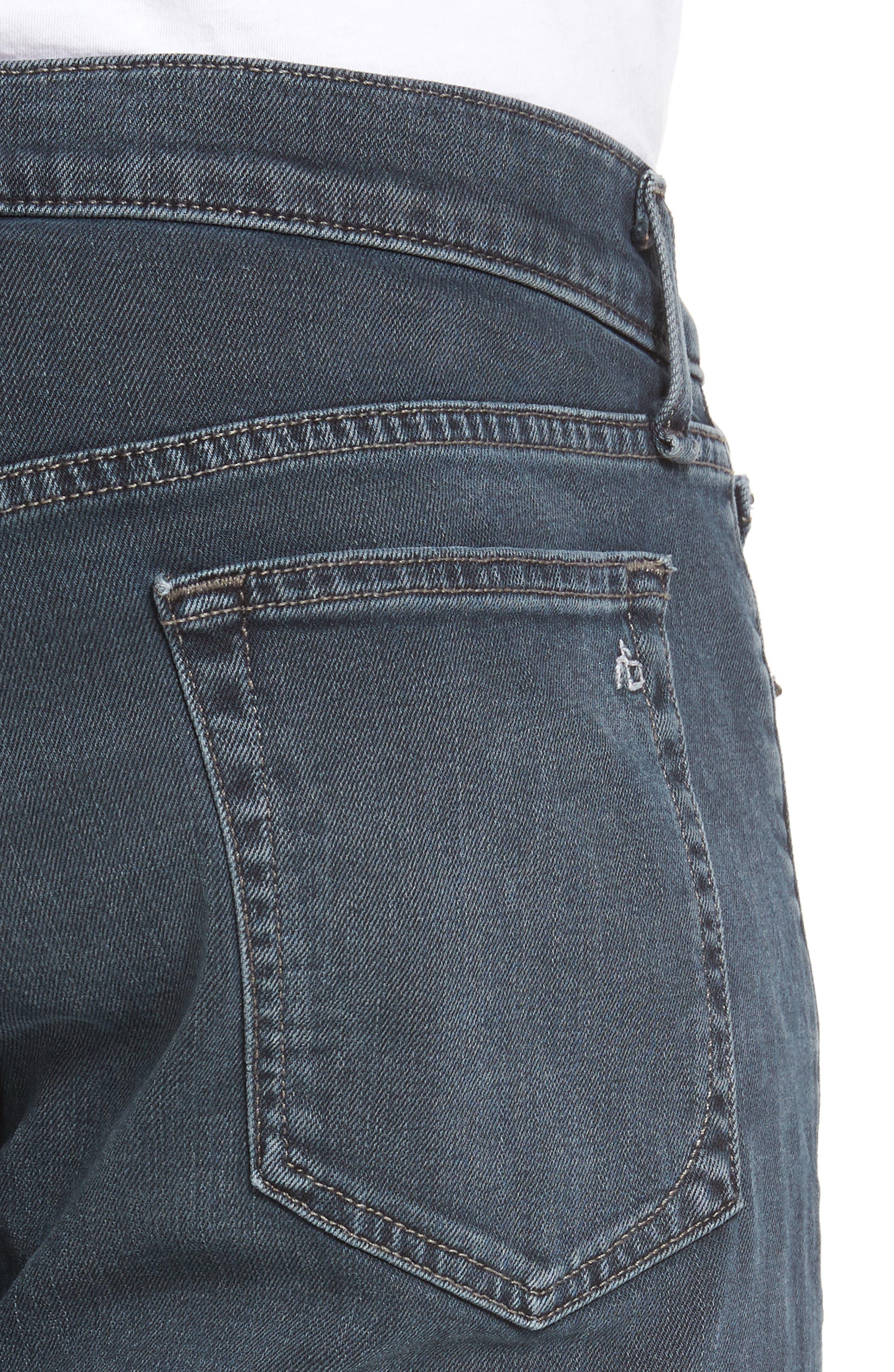 RAG & BONE, Fit 2 Slim Fit Jeans, Alternate thumbnail 5, color, MINNA