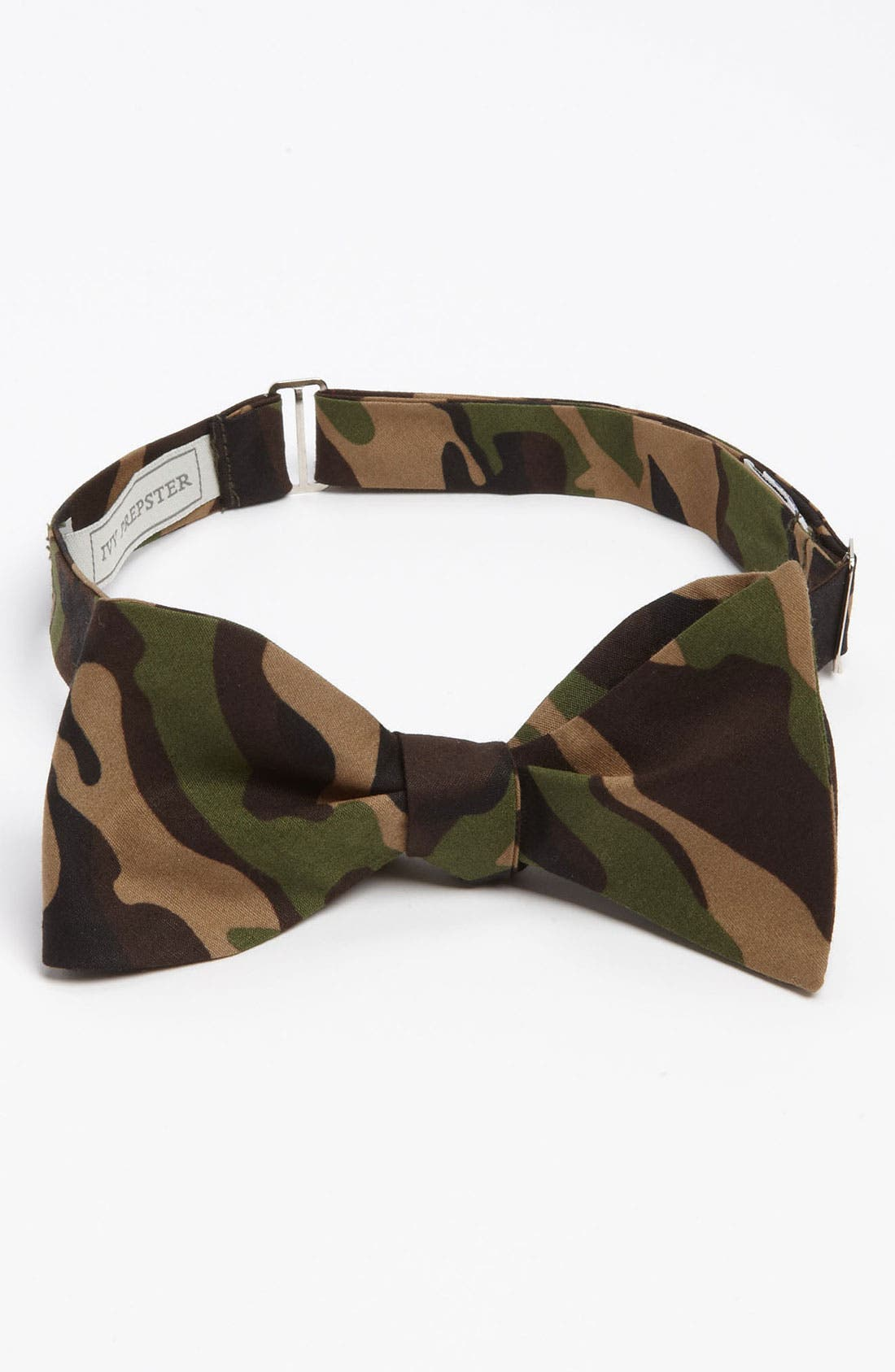 IVY PREPSTER Camo Bow Tie, Main, color, 348