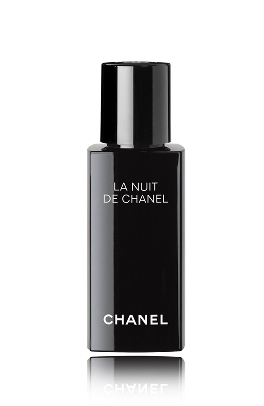 CHANEL LA NUIT DE CHANEL<br />Evening Recharging Face Care, Main, color, NO COLOR
