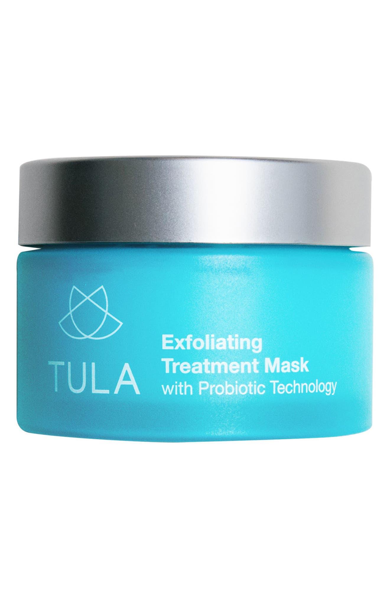 TULA PROBIOTIC SKINCARE Exfoliating Treatment Mask, Main, color, NO COLOR