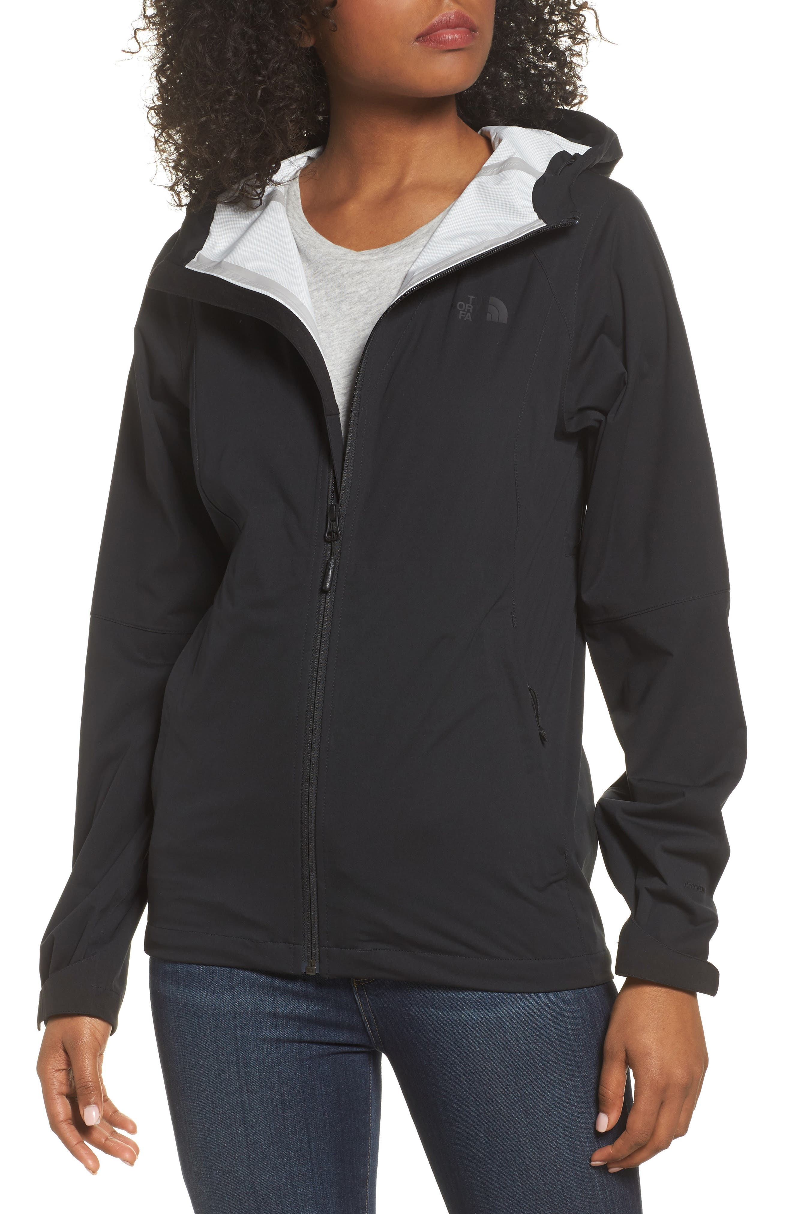 THE NORTH FACE, Allproof Stretch Jacket, Main thumbnail 1, color, 001