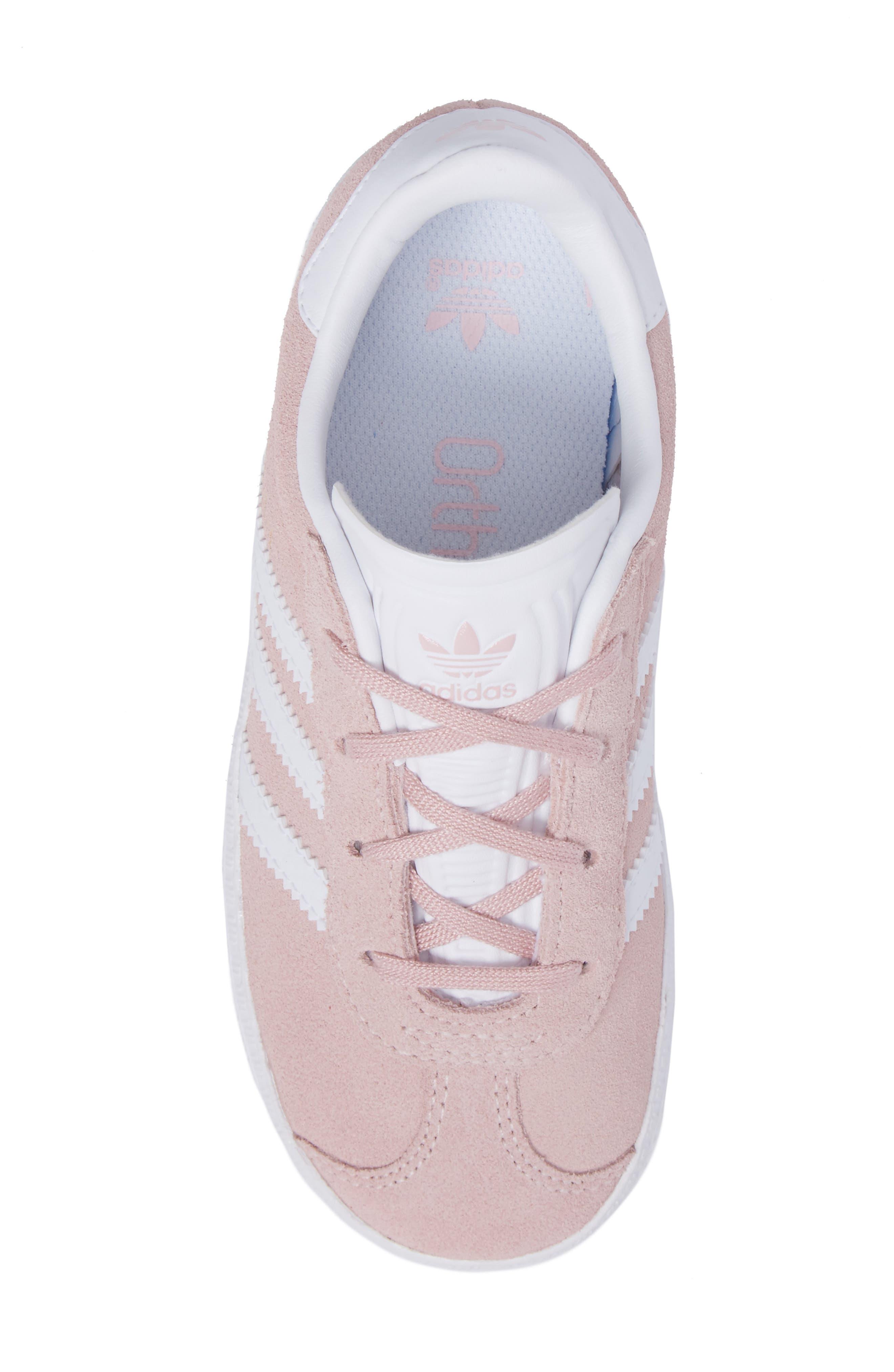 ADIDAS, Gazelle Sneaker, Alternate thumbnail 5, color, 682