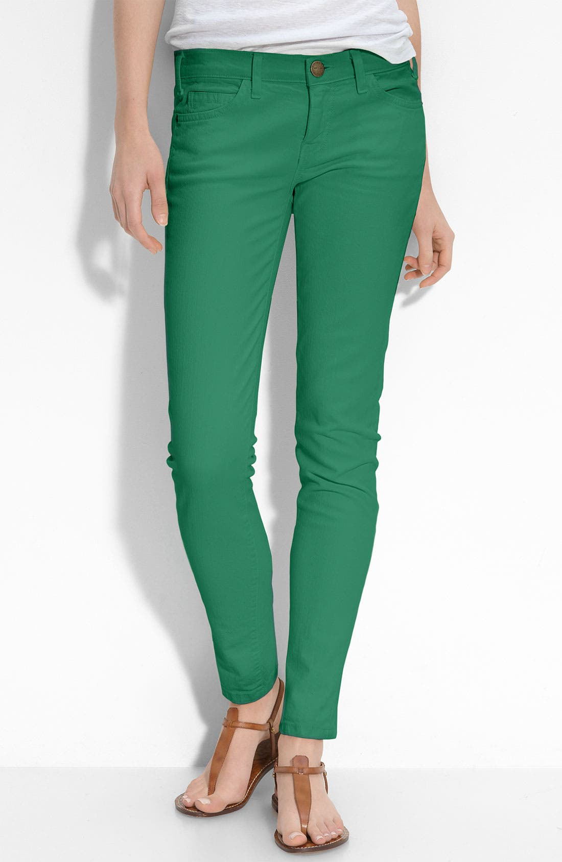 CURRENT/ELLIOTT Skinny Stretch Ankle Jeans, Main, color, 412
