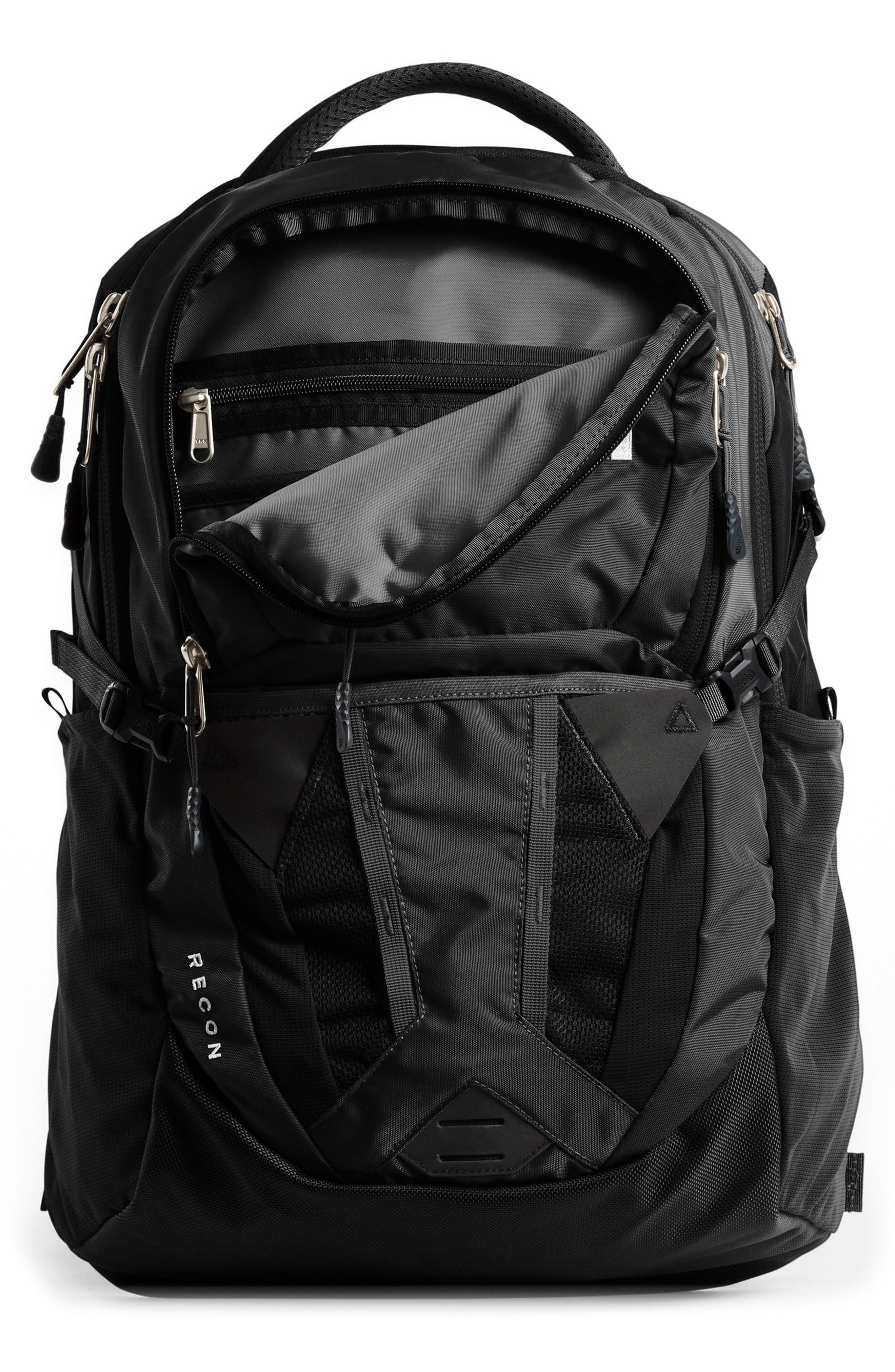 THE NORTH FACE, Recon Backpack, Alternate thumbnail 6, color, TNF BLACK