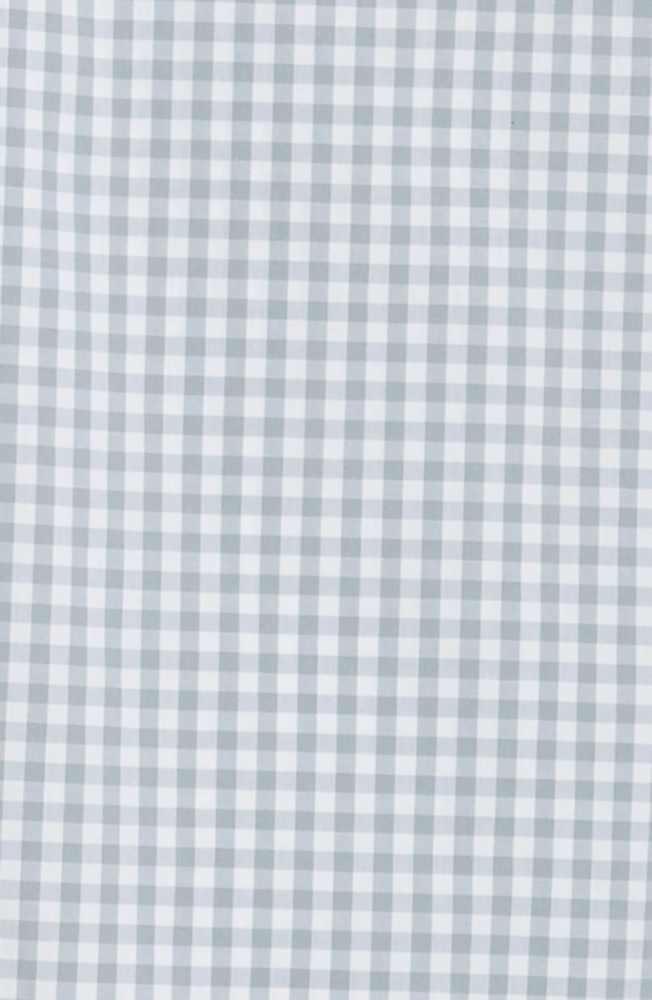 VINEYARD VINES, Carleton Classic Fit Gingham Buttondown Shirt, Alternate thumbnail 6, color, 023