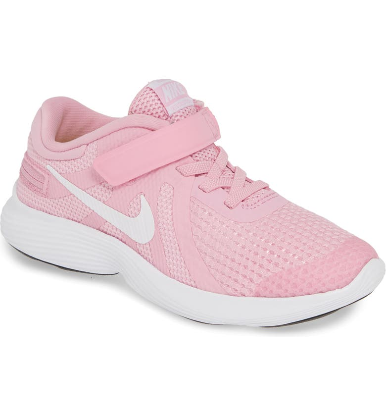 hot sale online 83e4e 07934 NIKE Revolution 4 Flyease Sneaker, Main, color, PINK RISE  WHITE-PINK
