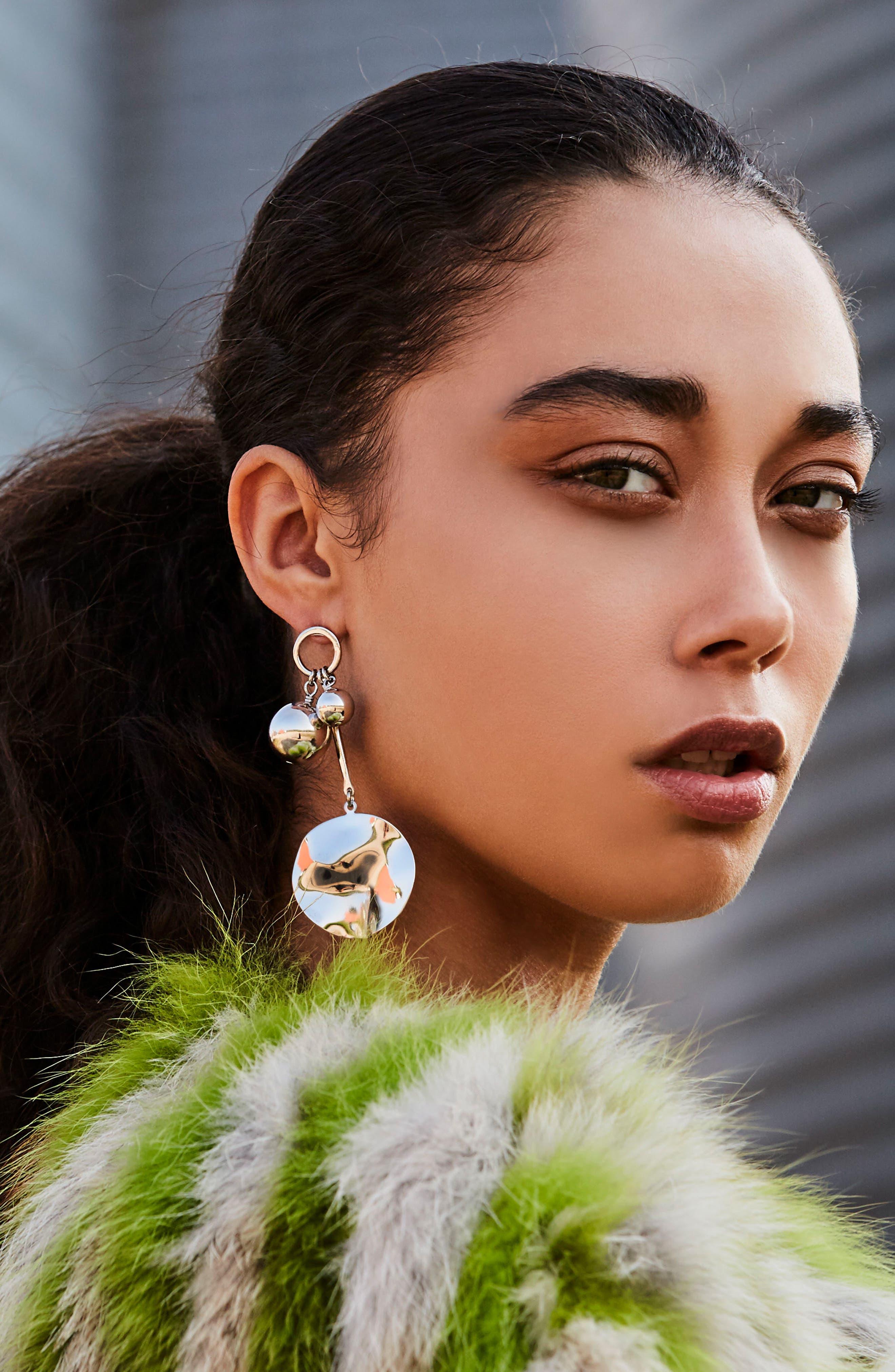 BIKO, Joyride Stud Earrings, Alternate thumbnail 3, color, 040
